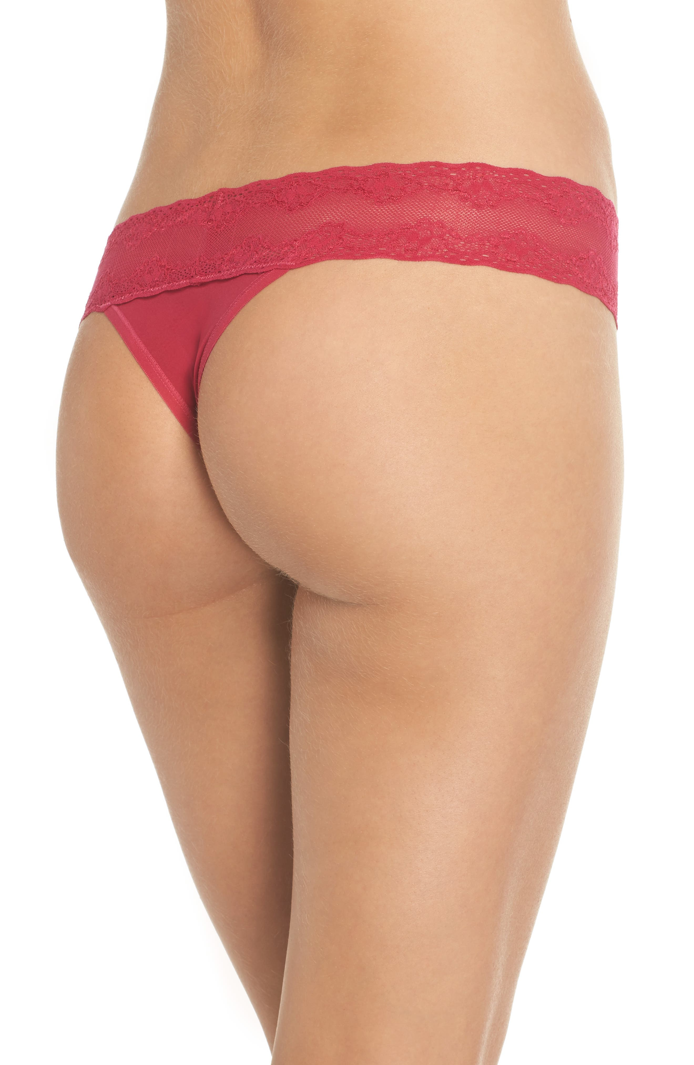 Bliss Perfection Thong,                             Alternate thumbnail 139, color,