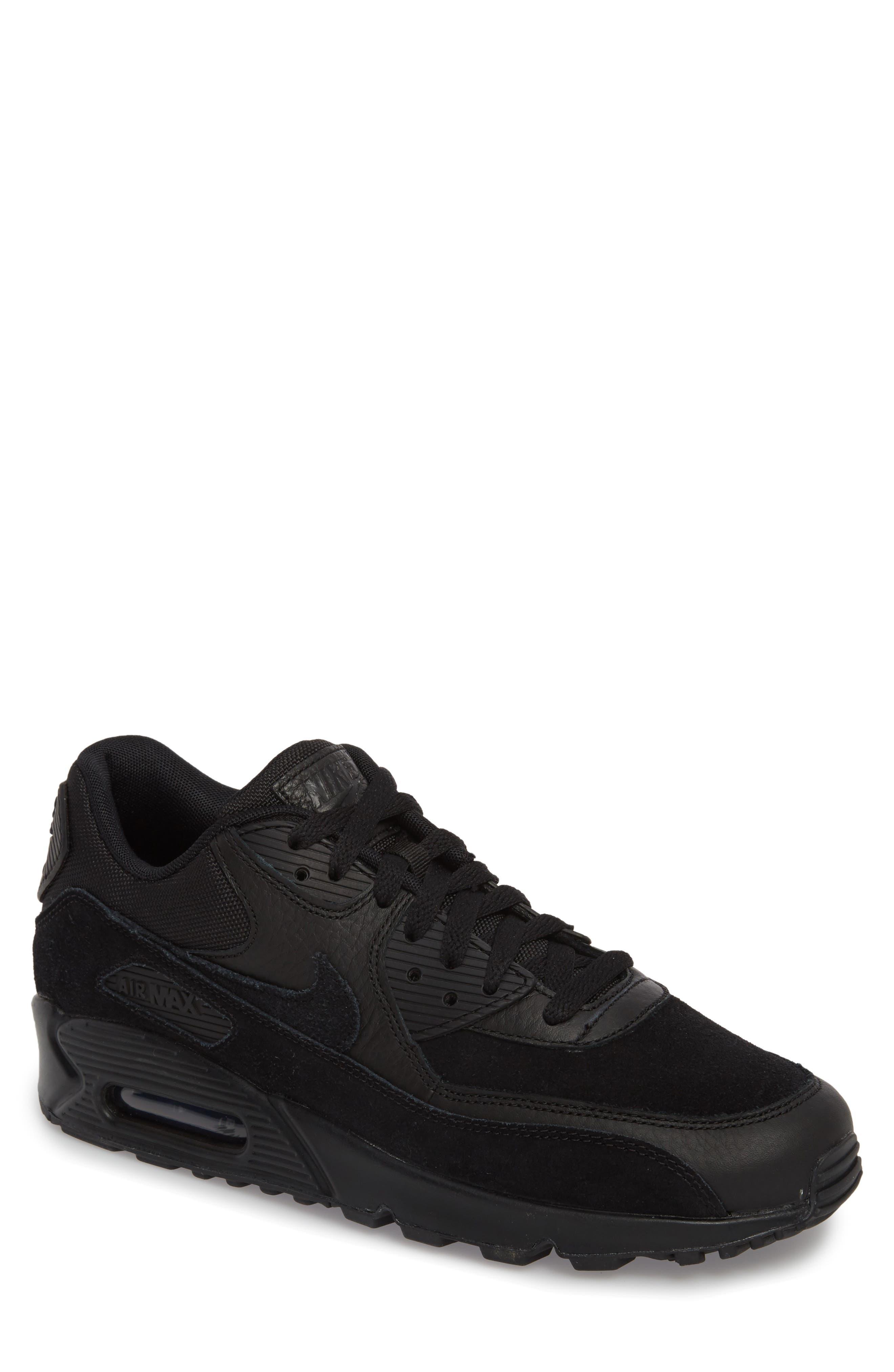 Air Max 90 Premium Sneaker,                             Main thumbnail 1, color,                             012