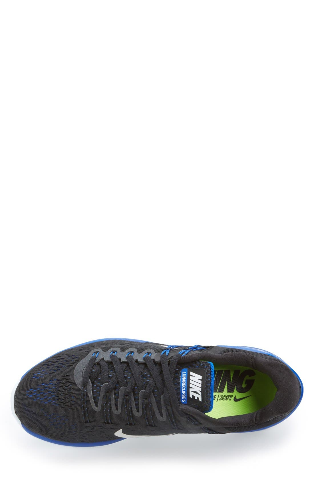 NIKE,                             'LunarEclipse 5' Running Shoe,                             Alternate thumbnail 3, color,                             004
