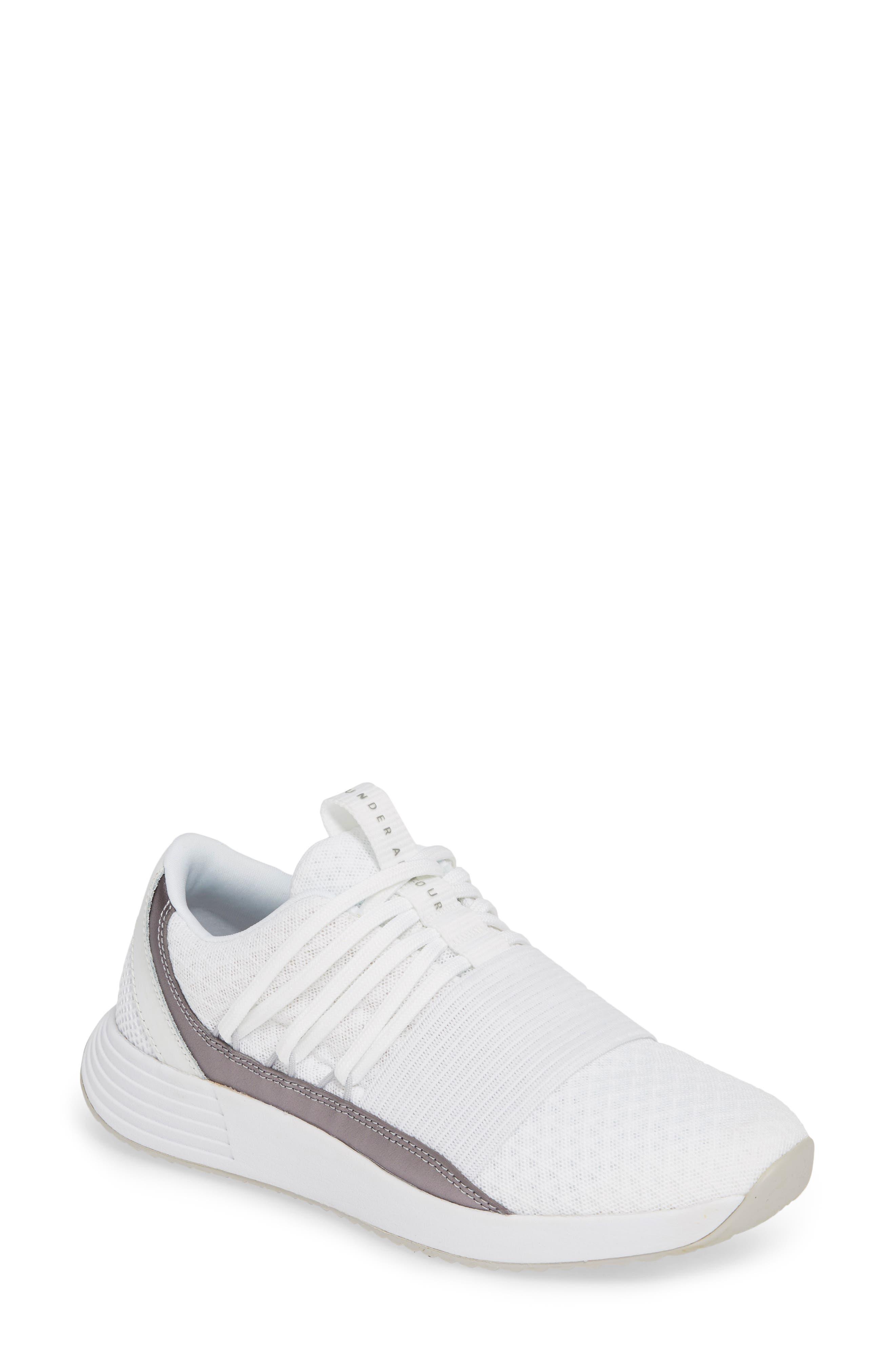 UNDER ARMOUR Breathe Lace X NM Sneaker, Main, color, WHITE/ WHITE/ METALLIC BLUSH