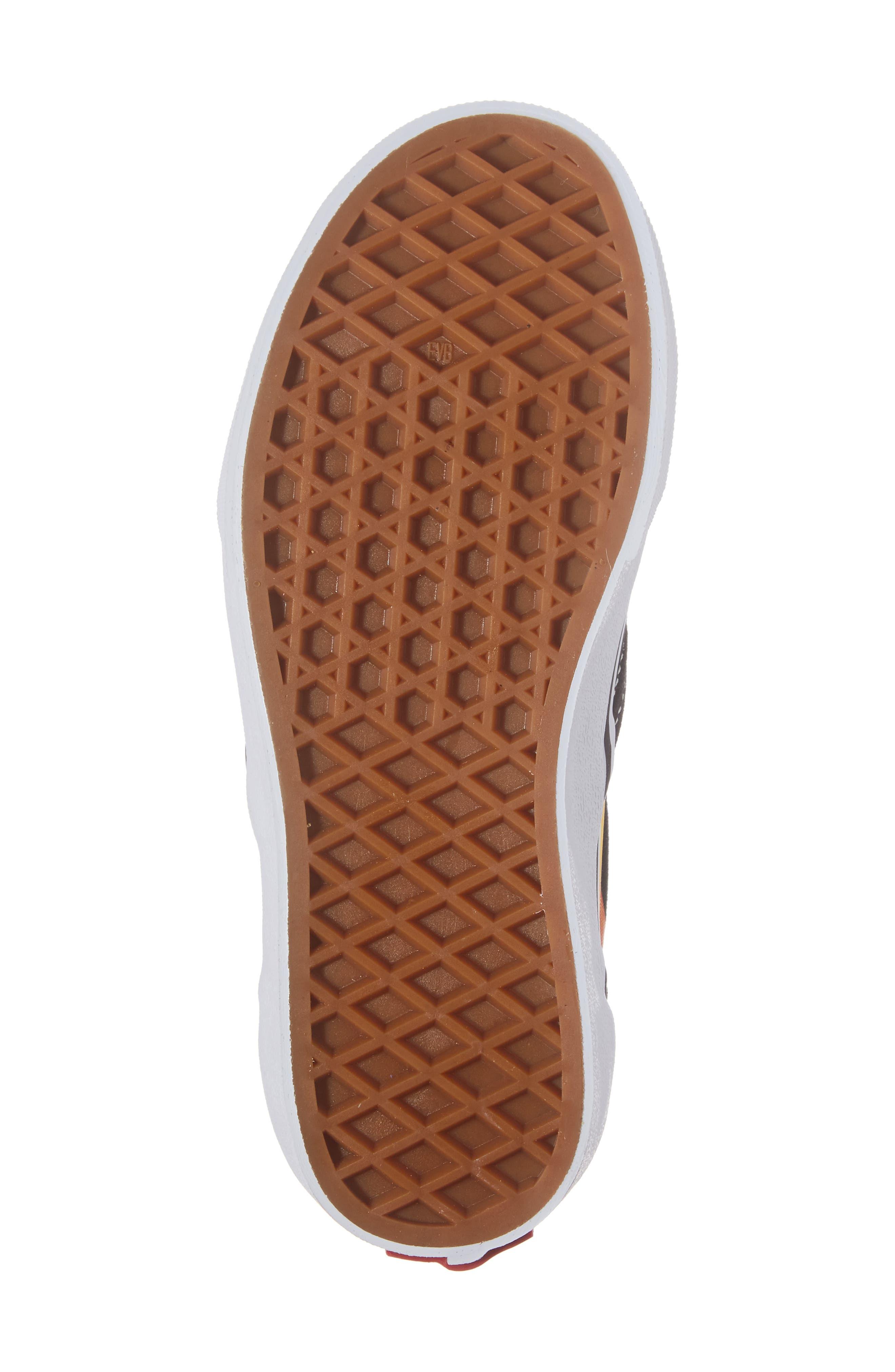 Flame Classic Slip-On Sneaker,                             Alternate thumbnail 6, color,                             002