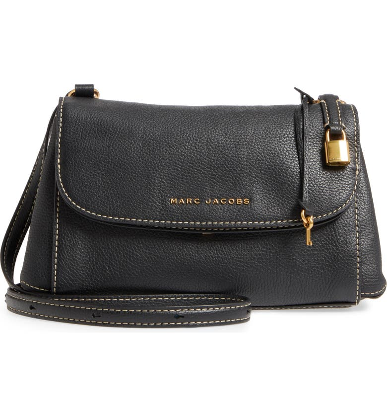 39727d960648f Marc Jacobs Mini The Boho Grind Leather Shoulder Bag - Black ...