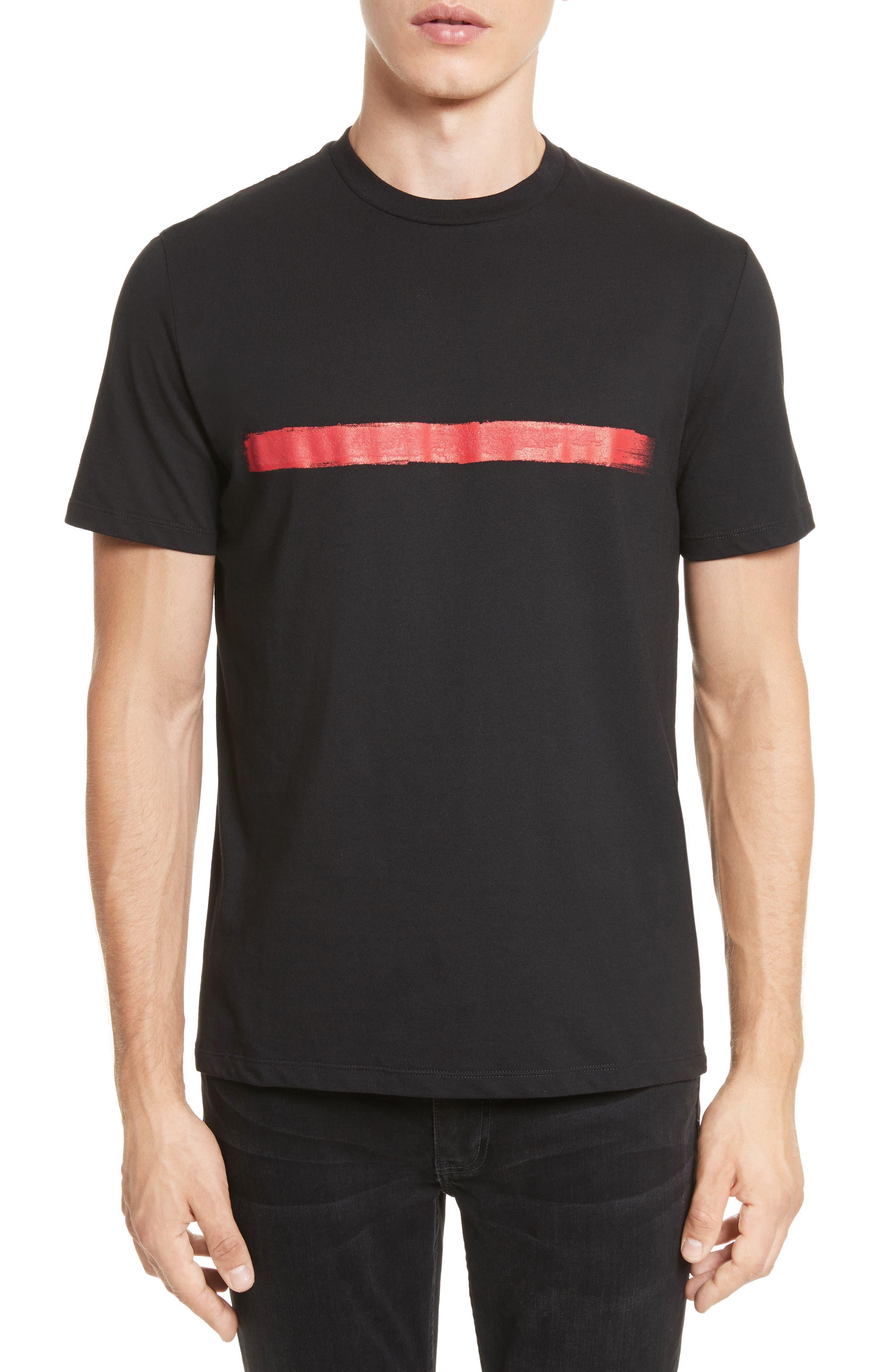 Brush Stroke Graphic T-Shirt,                             Main thumbnail 1, color,                             001