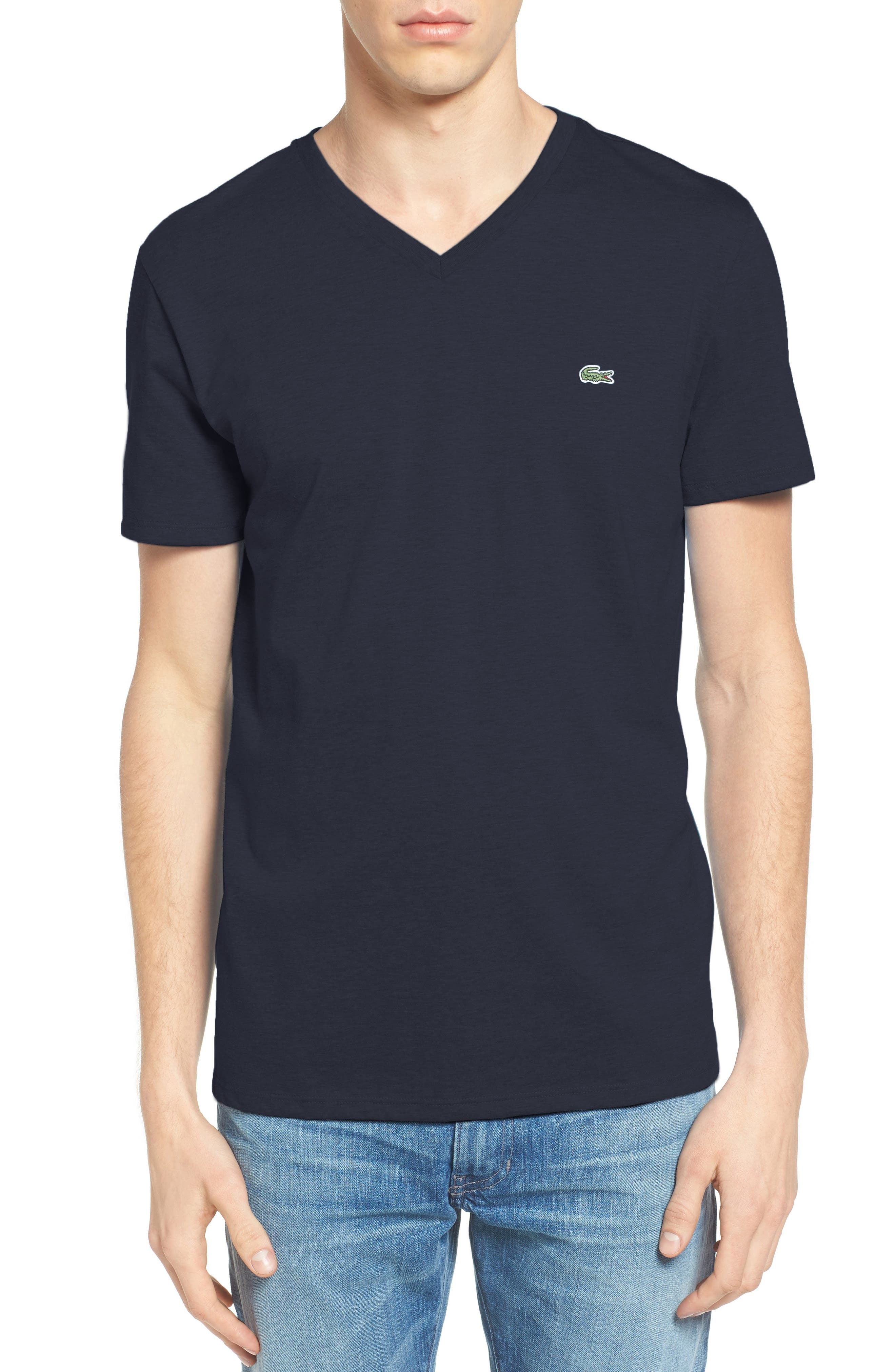 V-Neck T-Shirt,                             Main thumbnail 5, color,