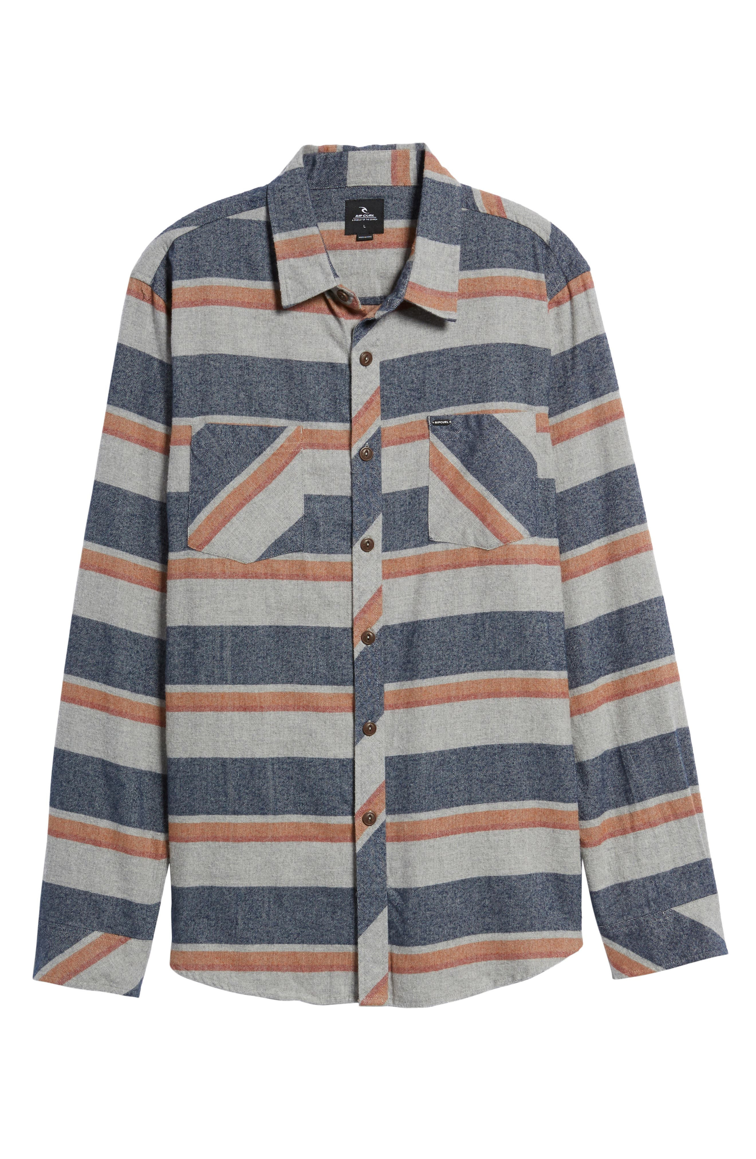 Seager Flannel Shirt,                             Alternate thumbnail 12, color,