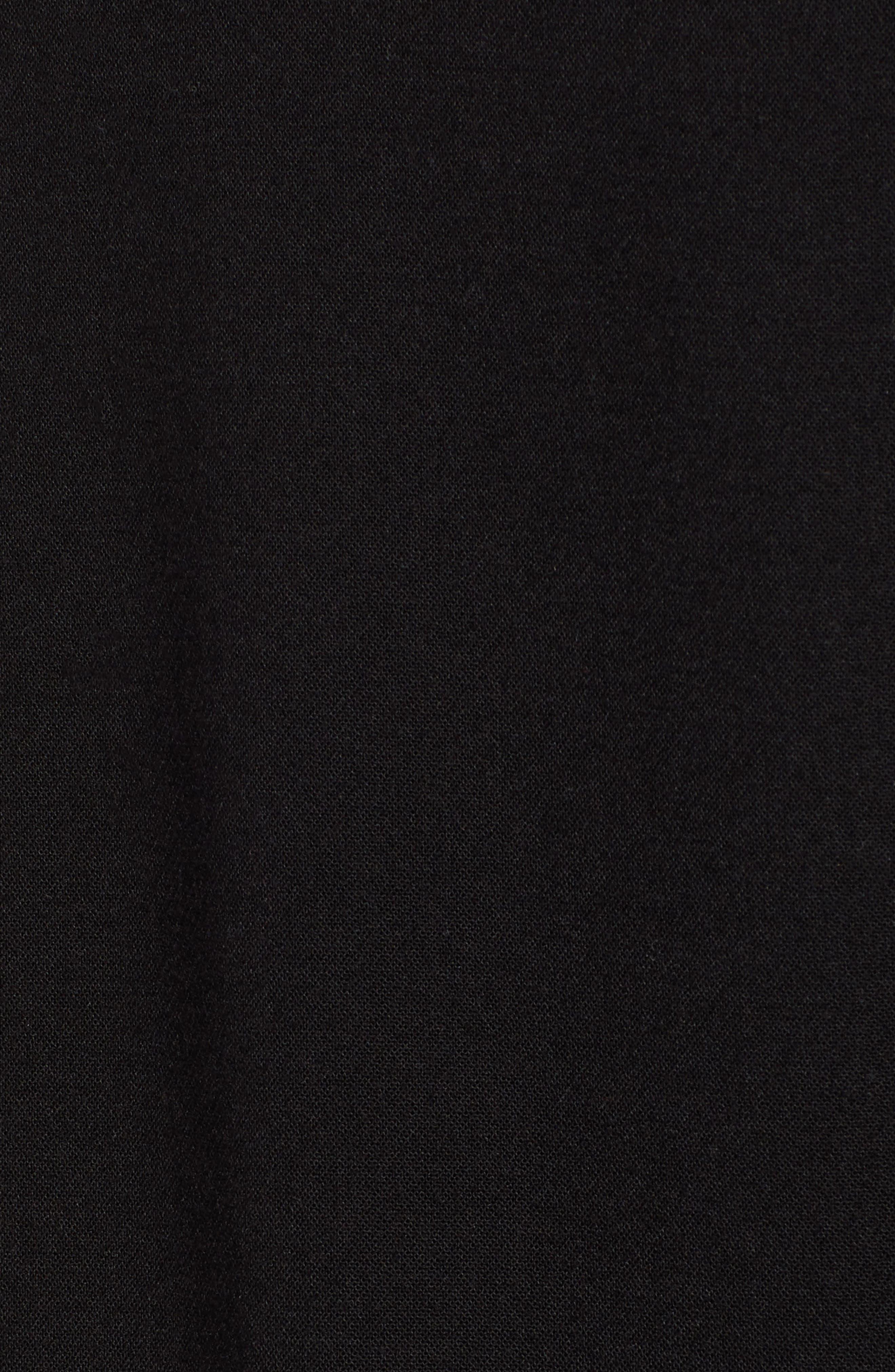 x Atlantic-Pacific High Waist Wide Leg Pants,                             Alternate thumbnail 6, color,                             BLACK