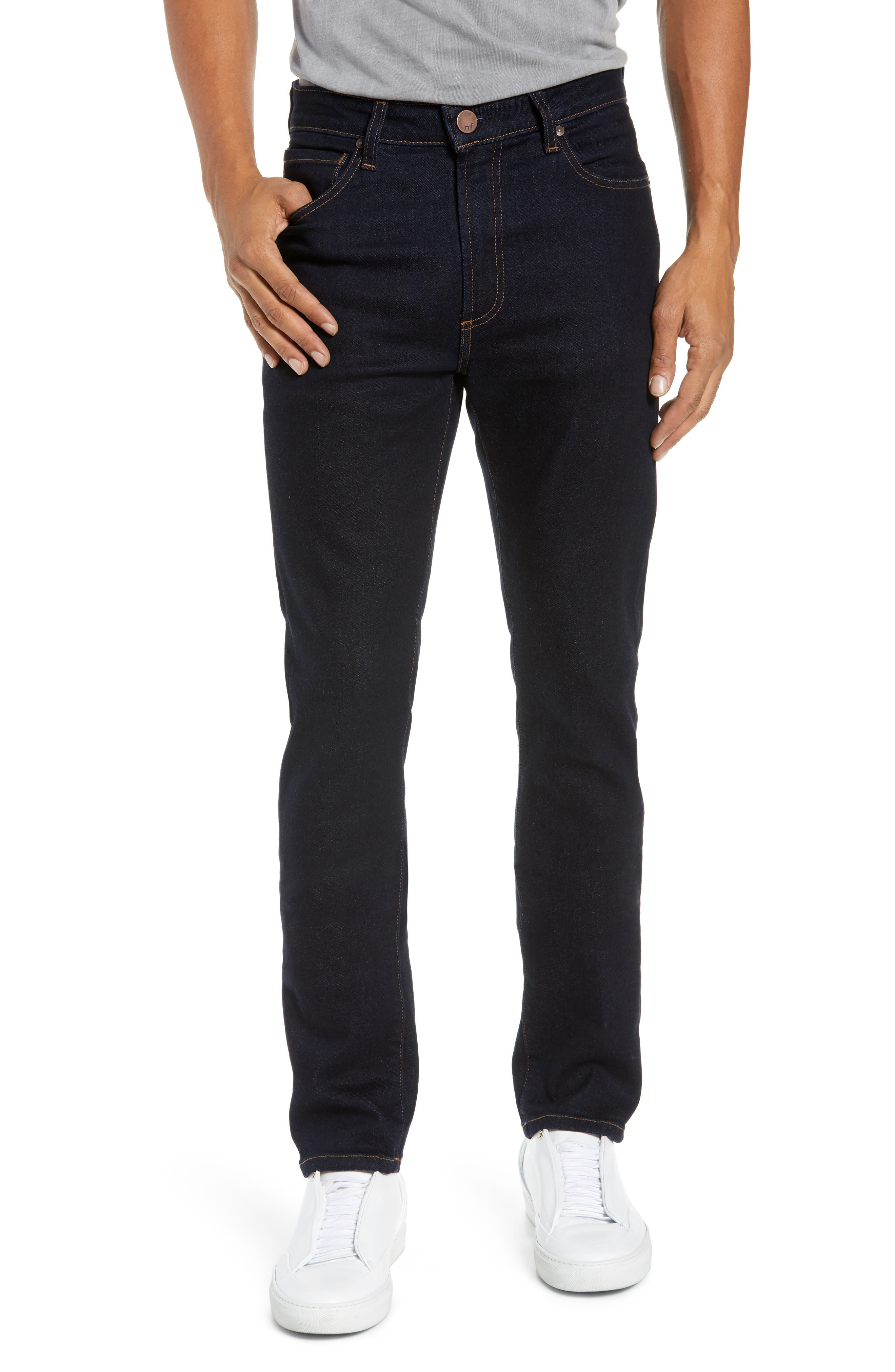 MONFRERE Brando Slim Jeans in Indigo