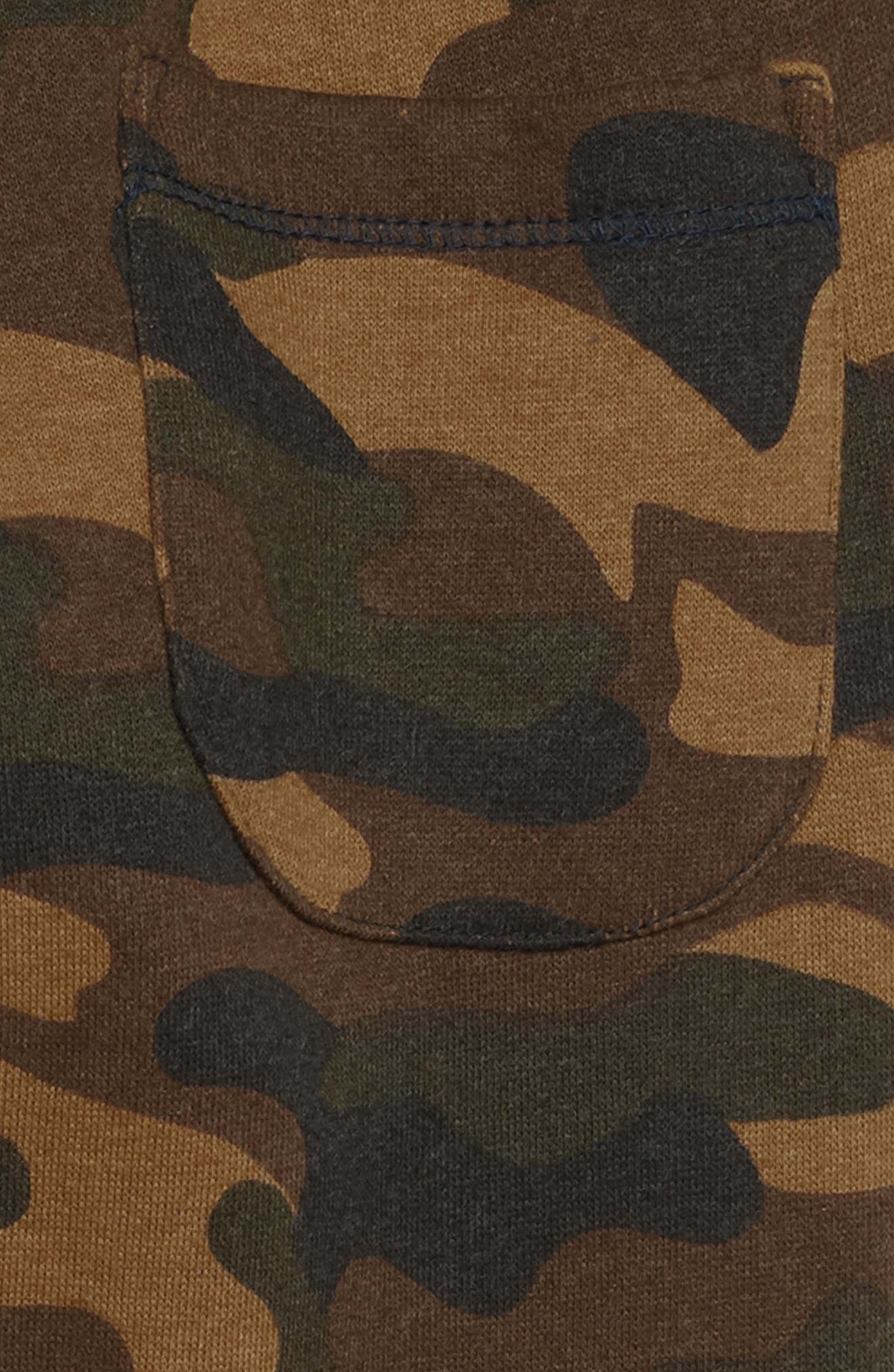 Zane Camo Jogger Pants,                             Alternate thumbnail 3, color,                             OLIVE