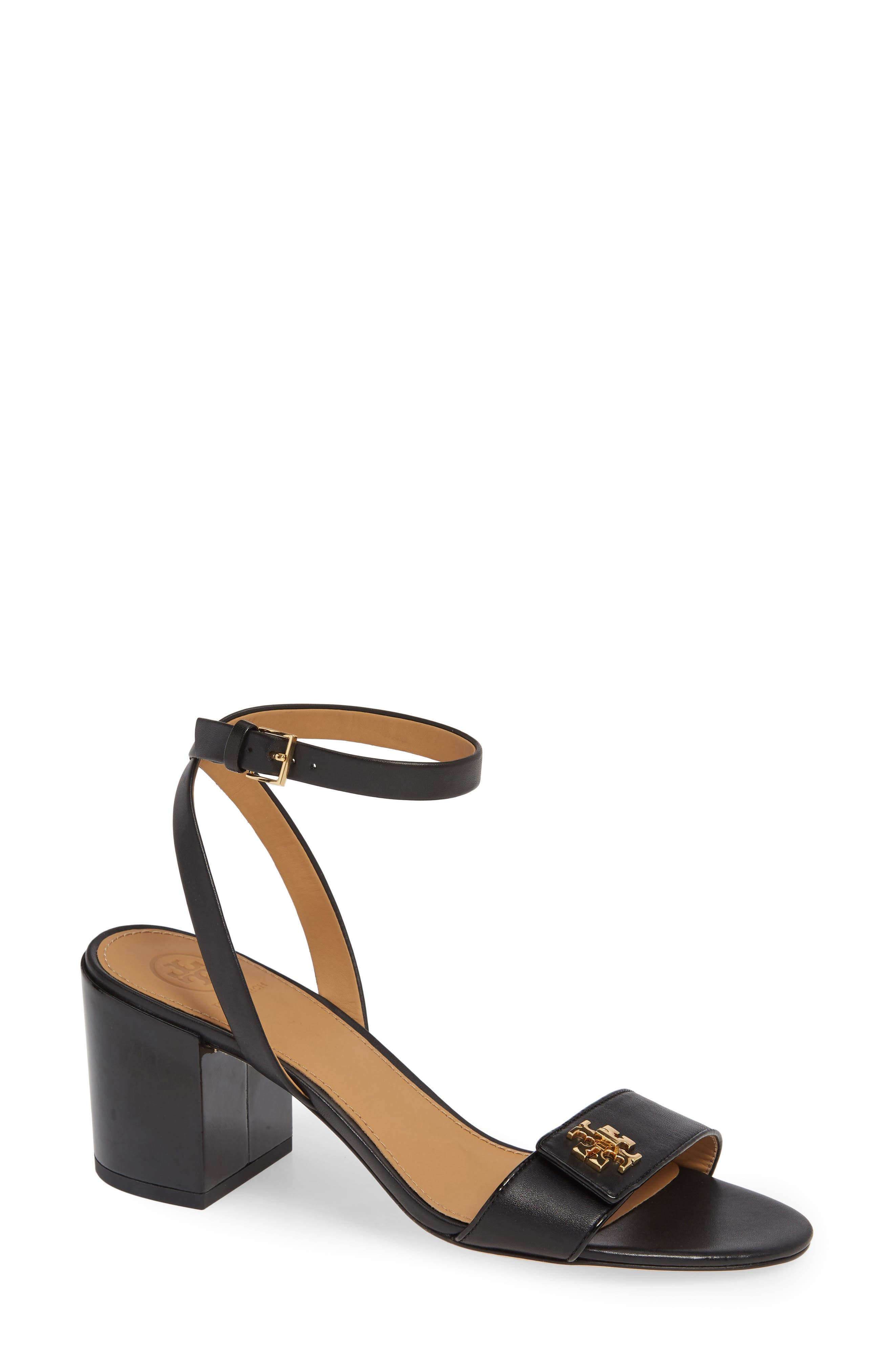 Kira Block Heel Sandal,                             Main thumbnail 1, color,                             PERFECT BLACK/ PERFECT BLACK