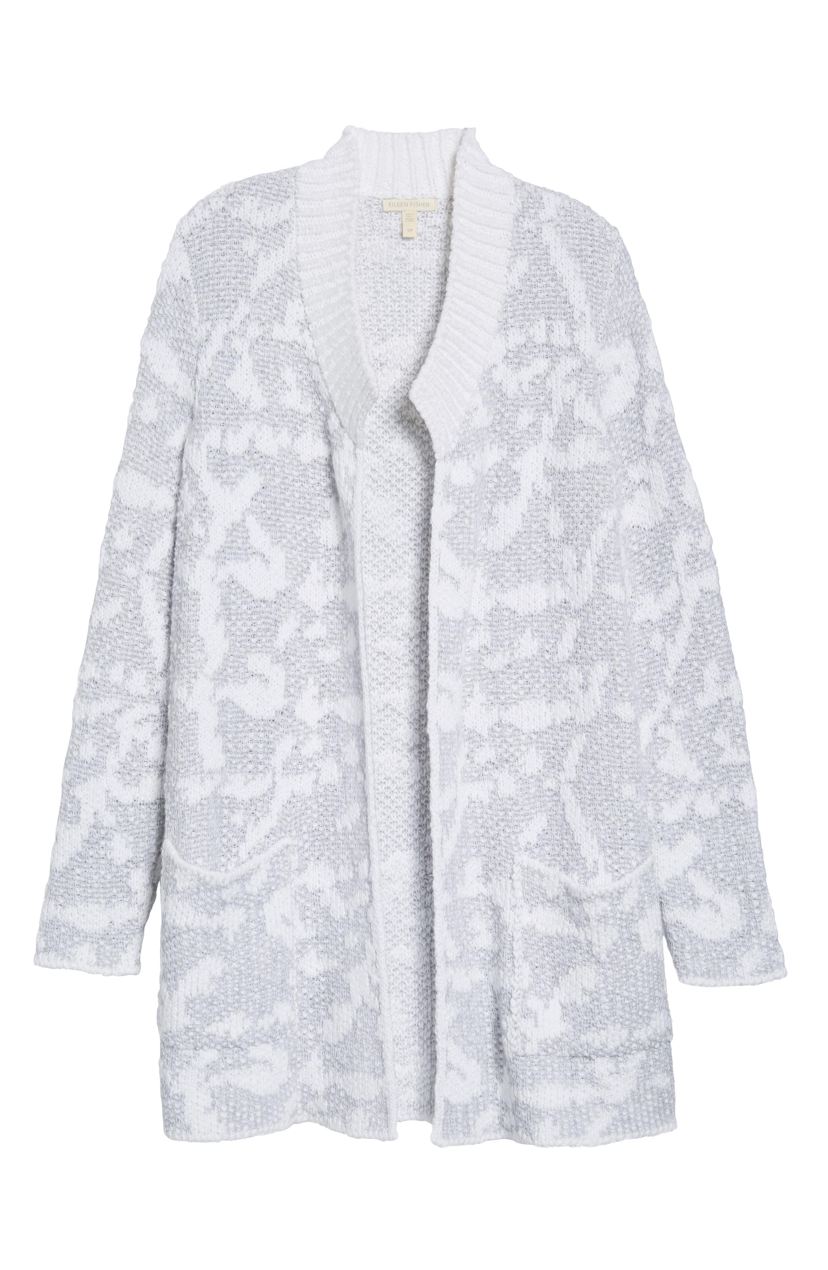 Organic Cotton Pocket Cardigan,                             Alternate thumbnail 6, color,                             022