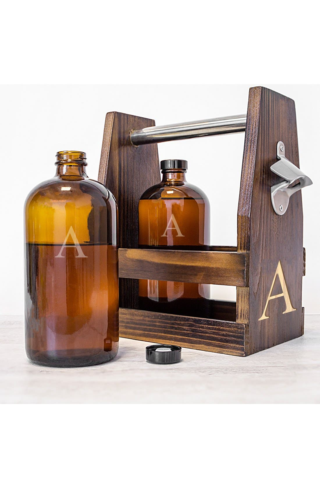 Personalized Craft Beer Carrier & Growlers,                             Alternate thumbnail 2, color,                             200