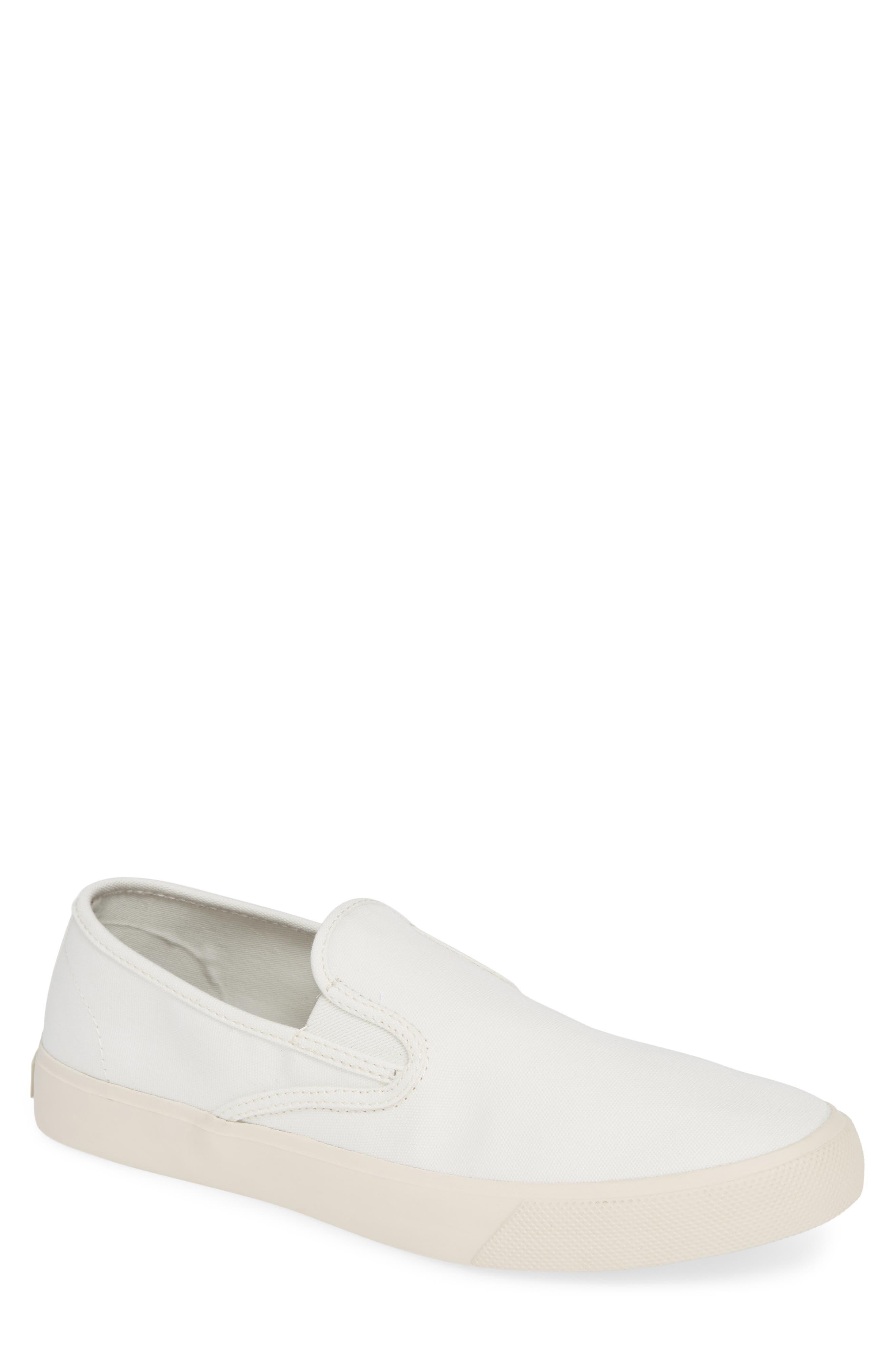 Striper II Slip-On Sneaker,                             Main thumbnail 1, color,                             WHITE