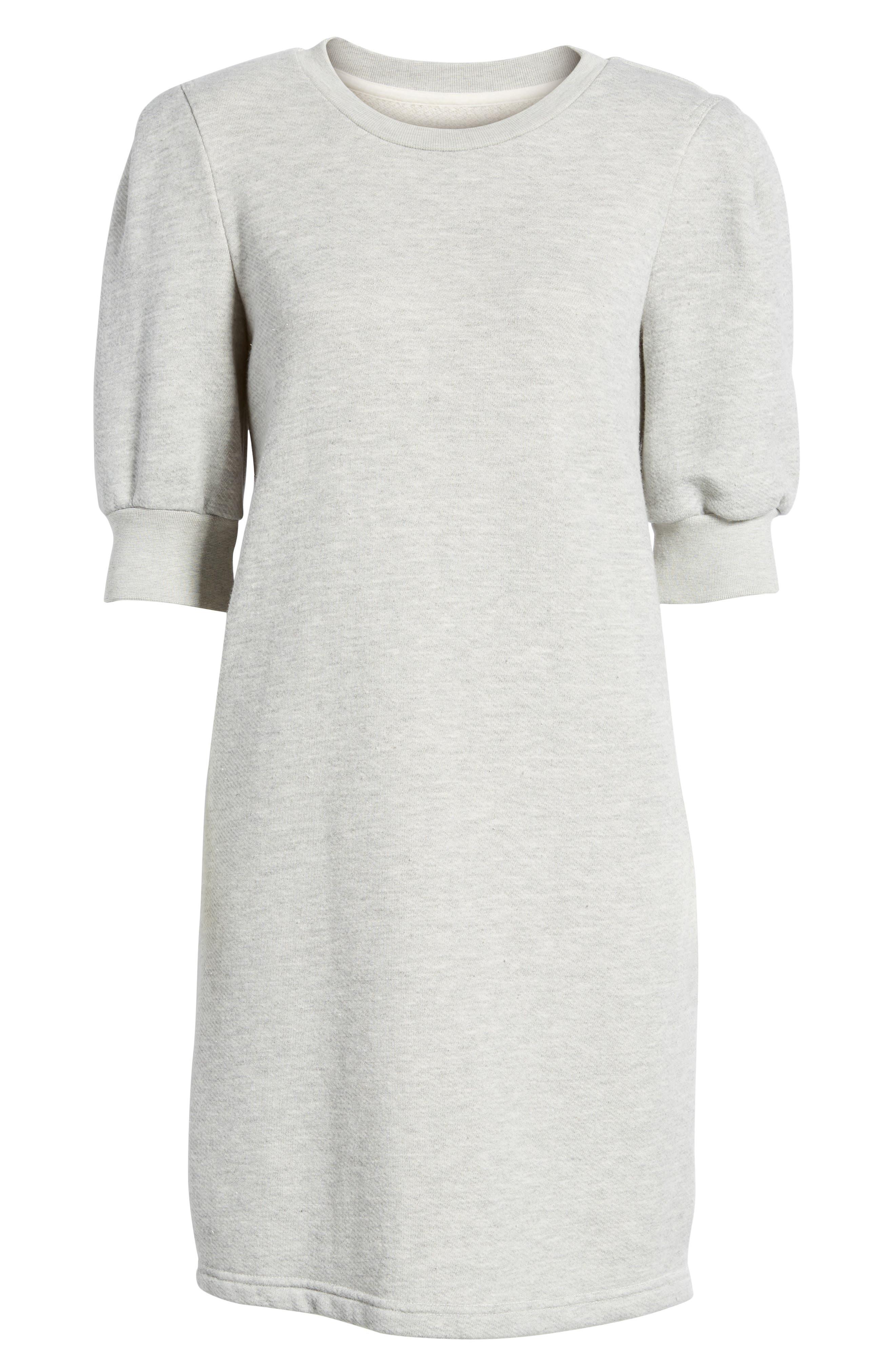 The Pleat Sweatshirt Dress,                             Alternate thumbnail 6, color,                             062