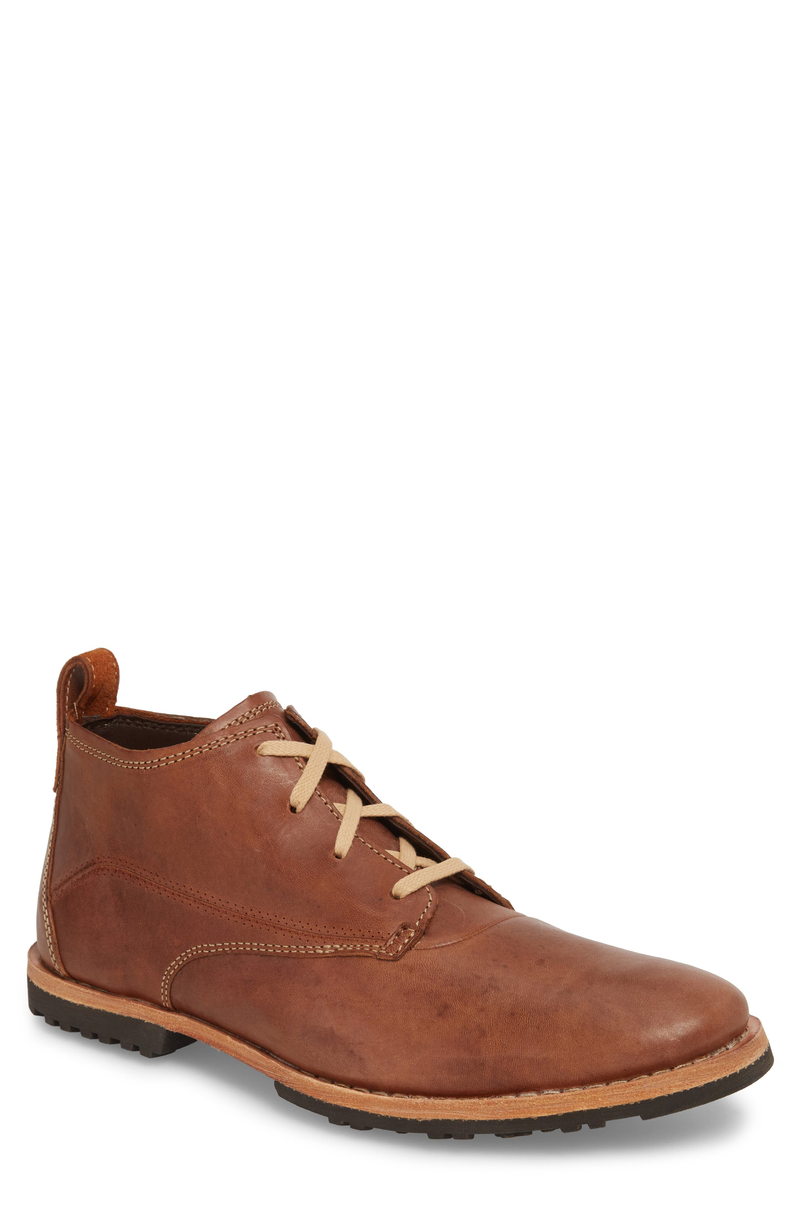 'Bardstown' Chukka Boot,                         Main,                         color, RUSSET BROWN LEATHER