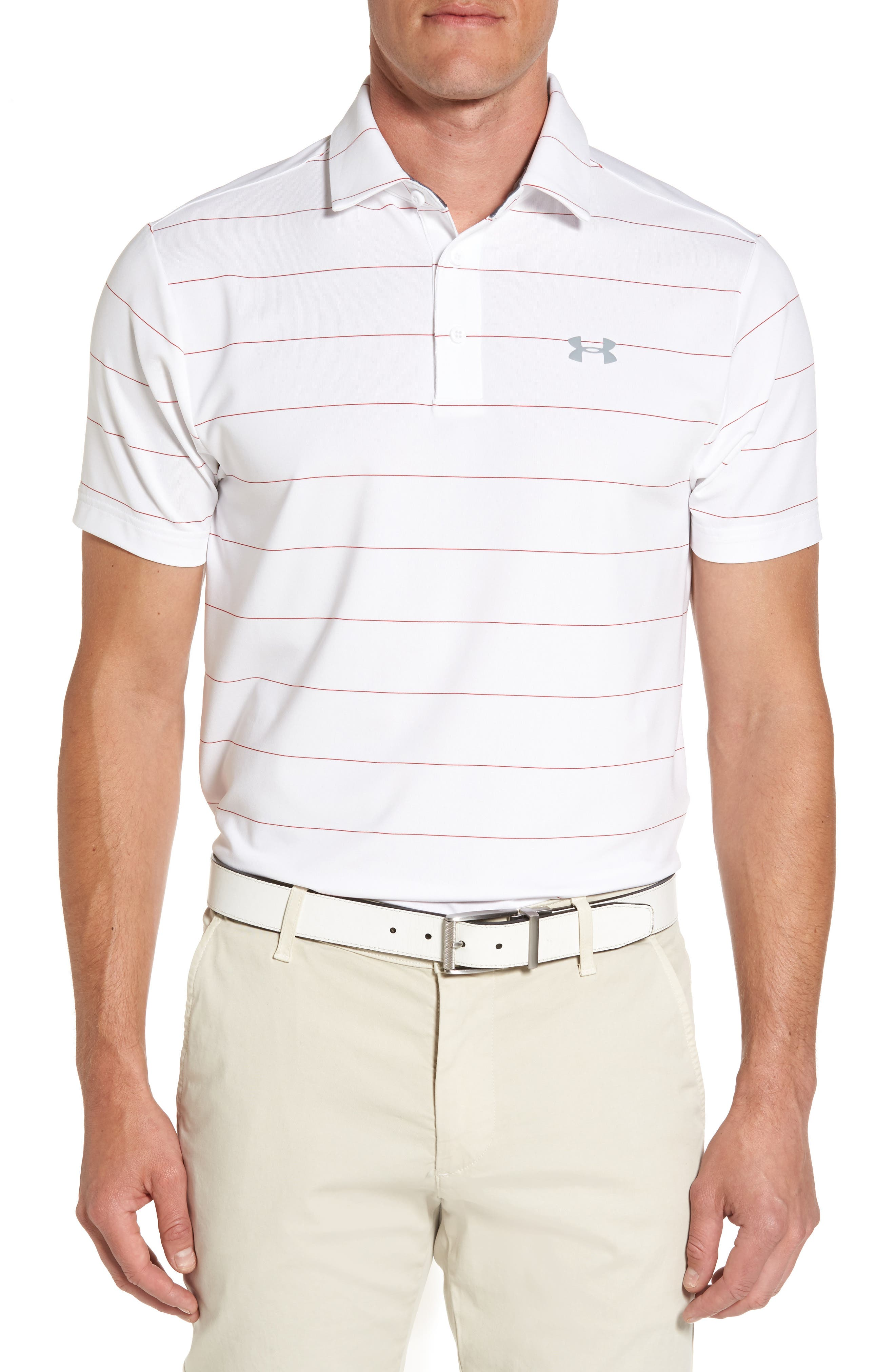 'Playoff' Loose Fit Short Sleeve Polo,                             Main thumbnail 4, color,