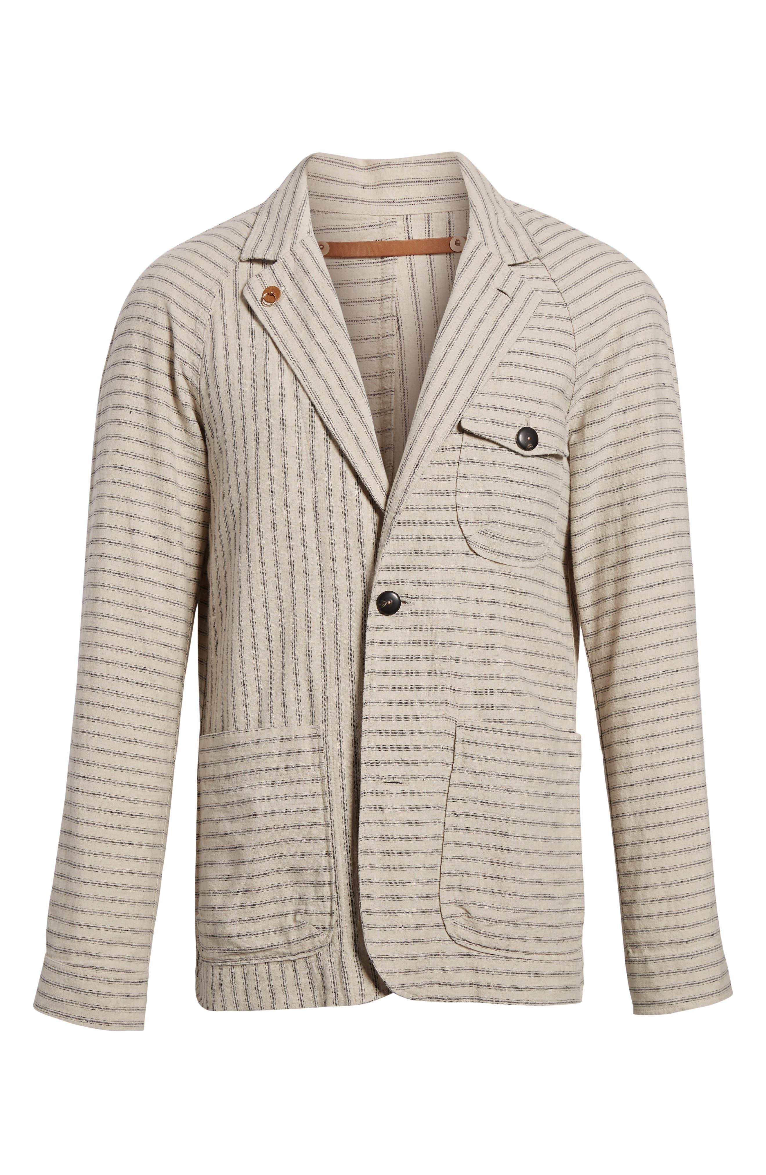 Harrison Linen & Cotton Jacket,                             Alternate thumbnail 5, color,                             274
