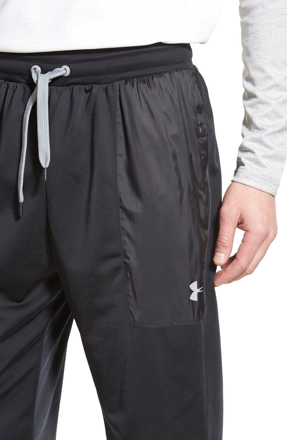 UNDER ARMOUR,                             'Diddy Bop' Moisture Wicking Training Pants,                             Alternate thumbnail 2, color,                             001