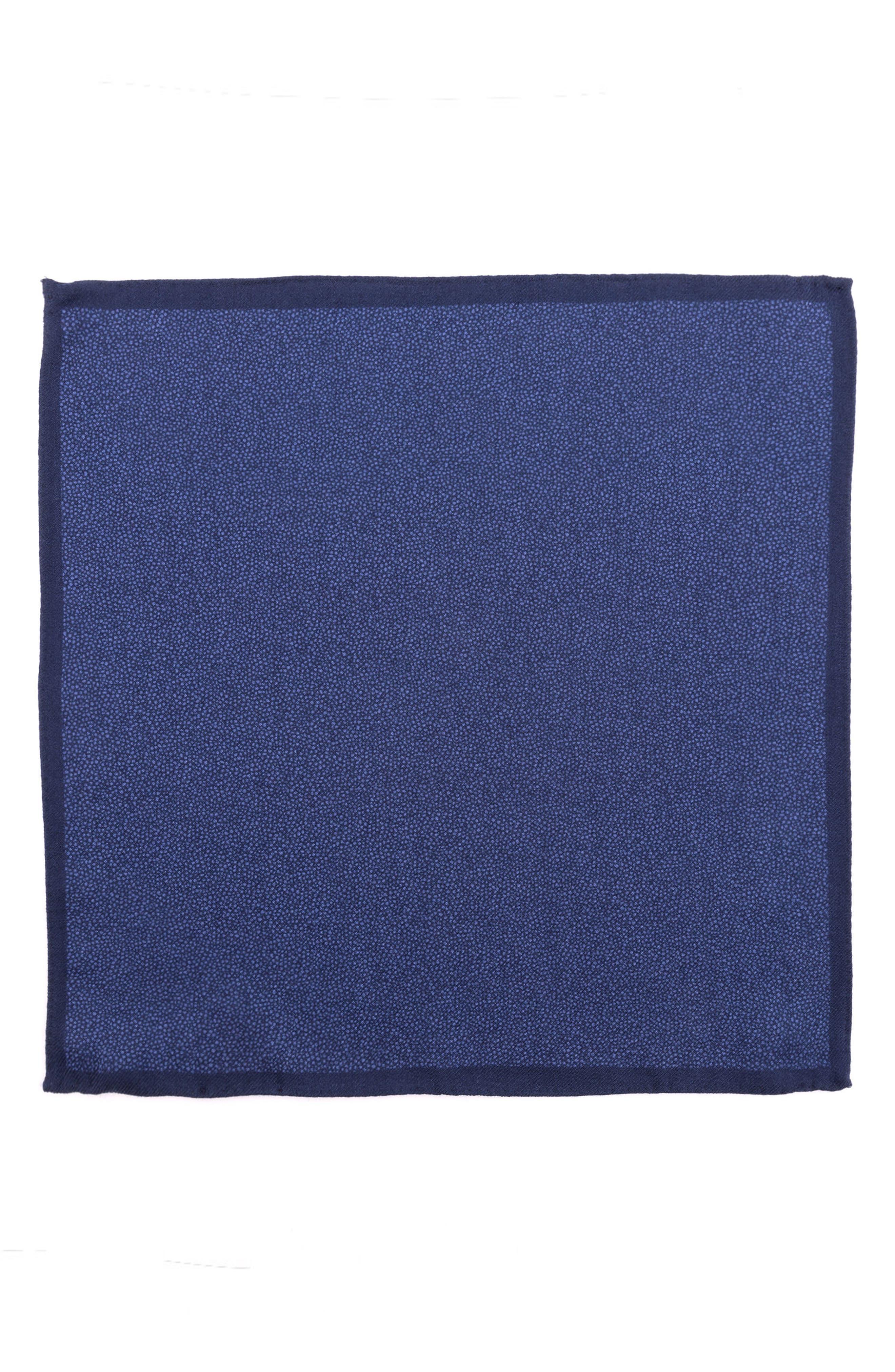 Dot Wool Pocket Square,                             Alternate thumbnail 2, color,                             400
