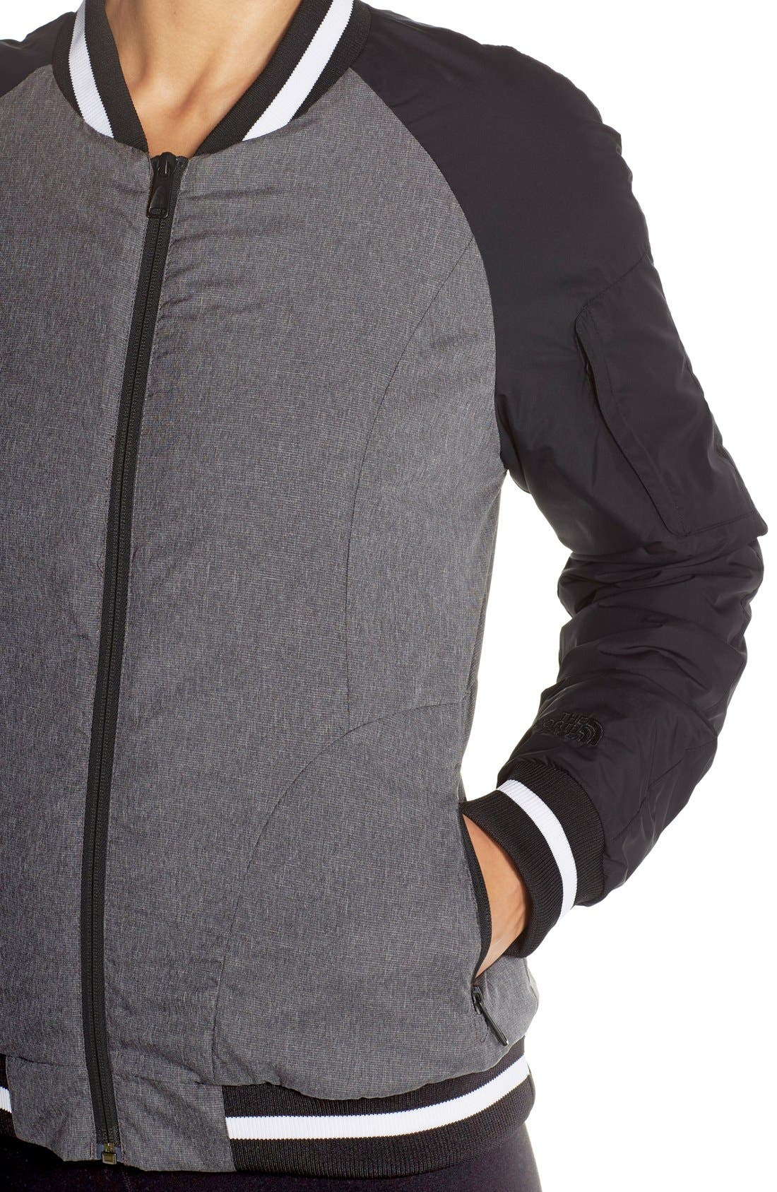 'Rydell' Water Resistant Heatseeker<sup>™</sup> Insulated Bomber Jacket,                             Alternate thumbnail 6, color,                             001