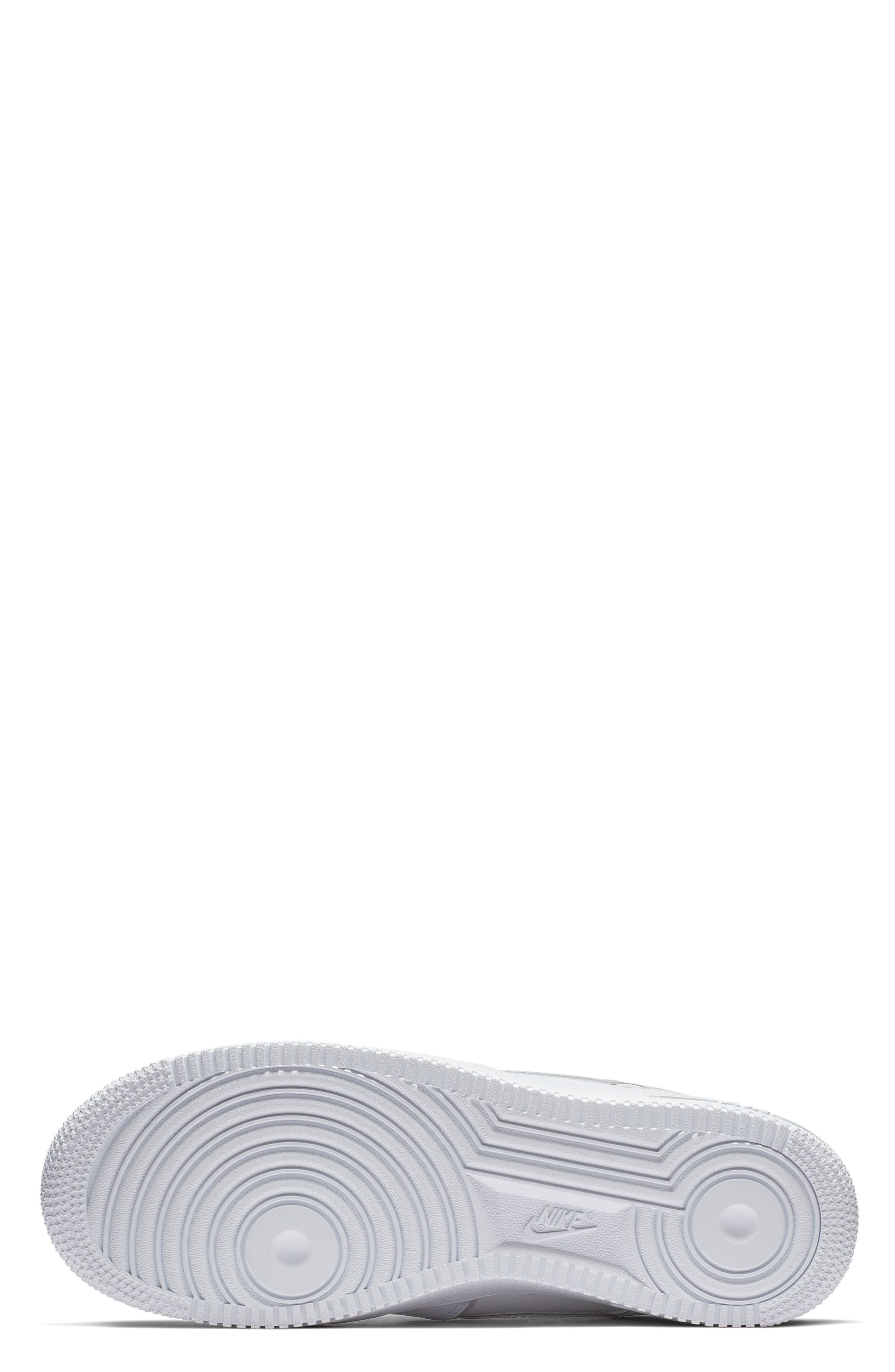 Air Force 1 '07 LV8 4 Sneaker,                             Alternate thumbnail 5, color,                             WHITE/ WHITE/ WHITE