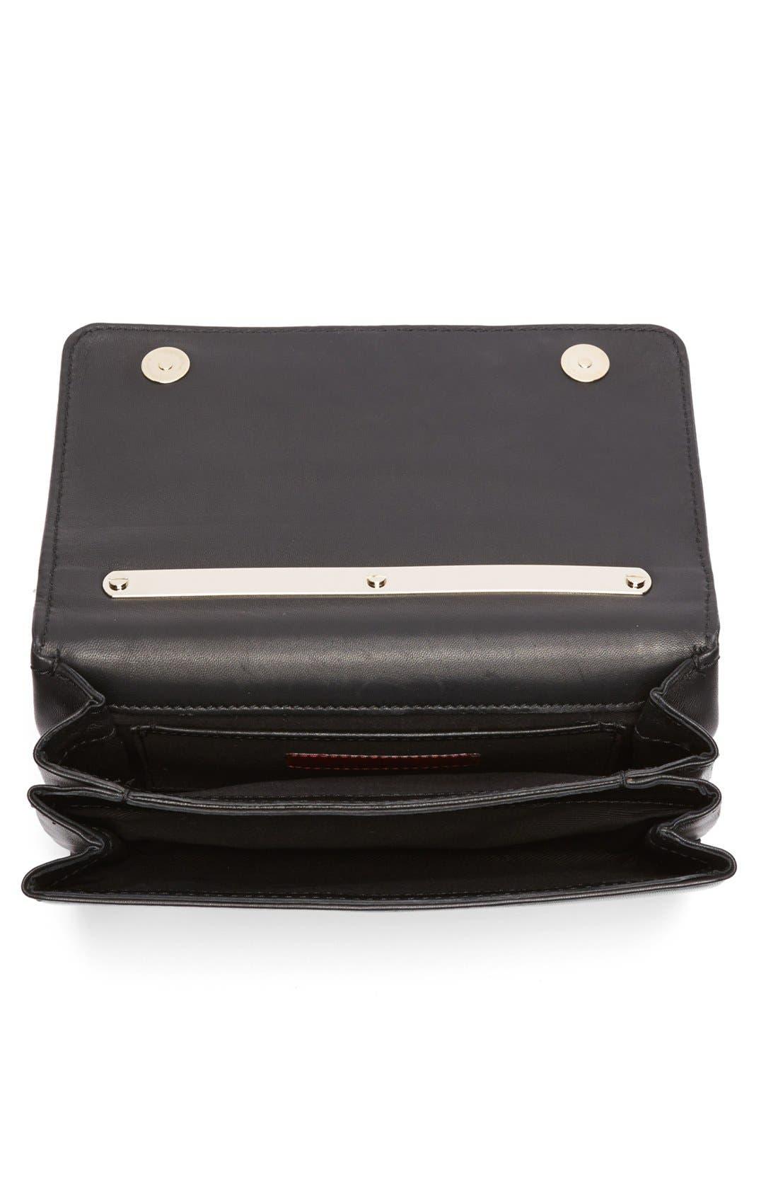 'Va Va Voom' Nappa Leather Shoulder Bag,                             Alternate thumbnail 2, color,                             001