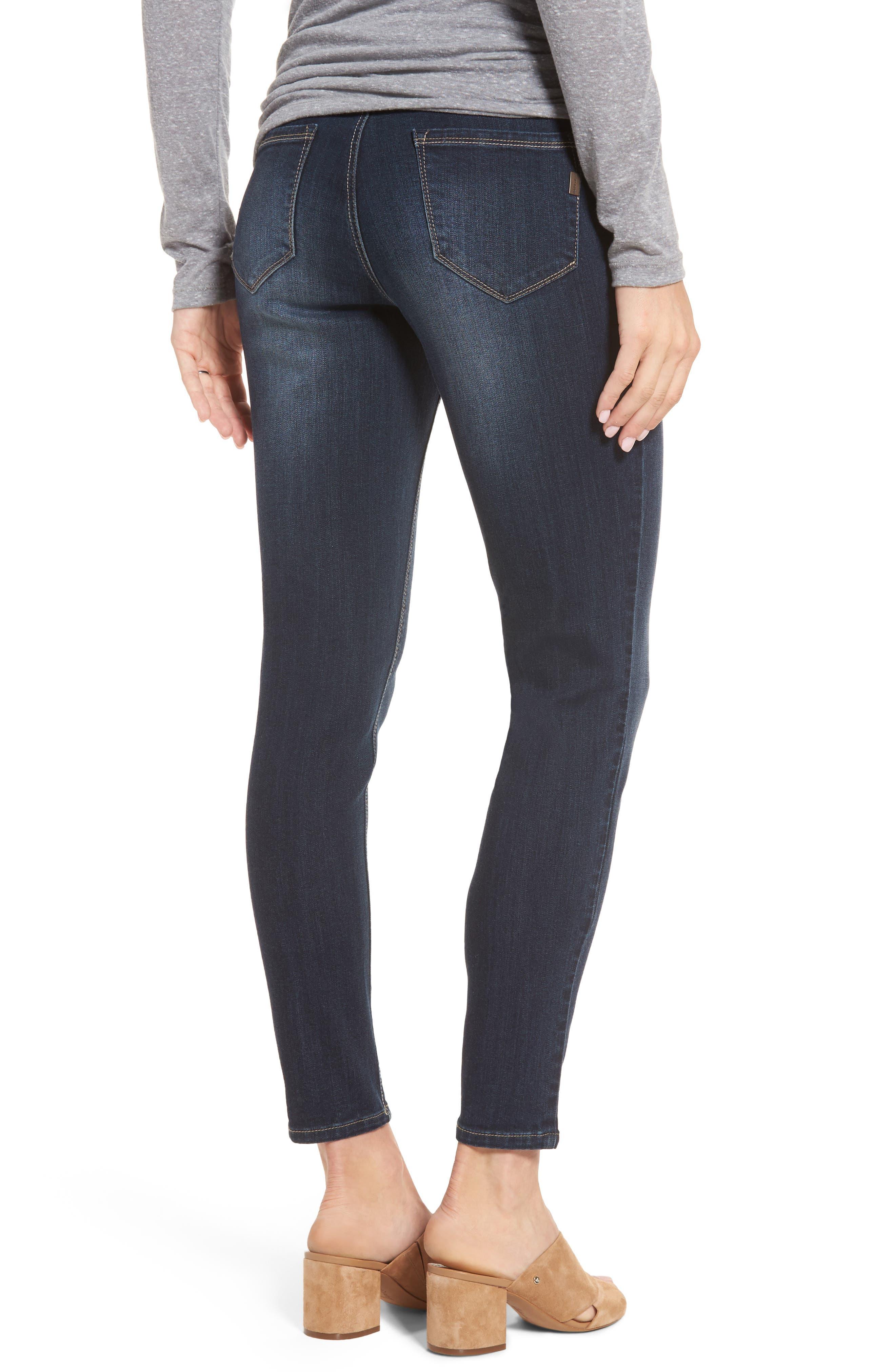 Maternity Ankle Skinny Jeans,                             Alternate thumbnail 2, color,                             LENNOX