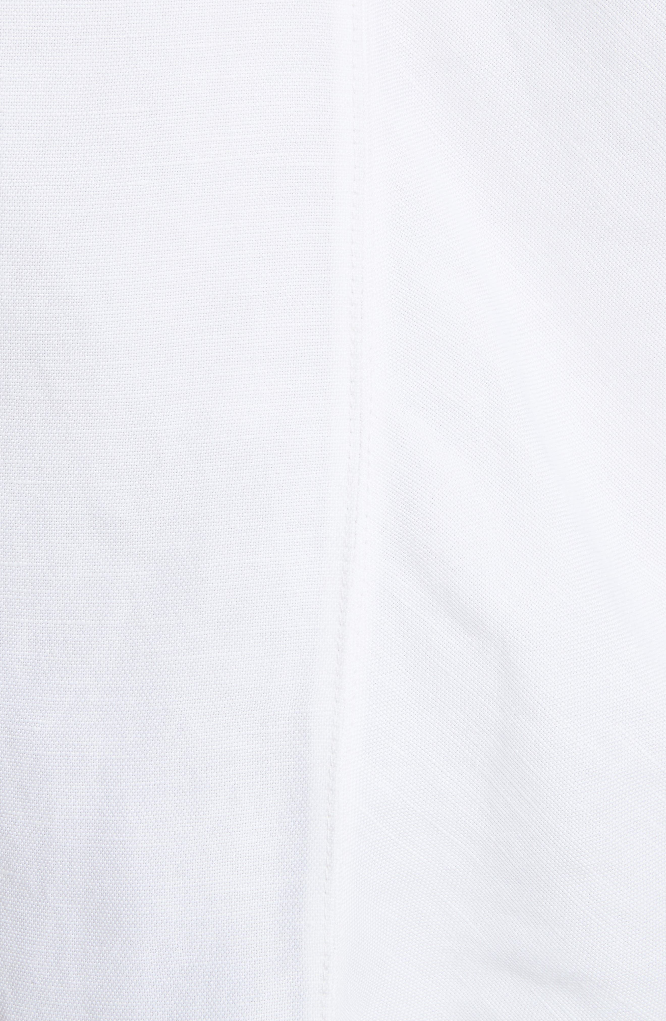 One-Shoulder Linen Blend Top,                             Alternate thumbnail 5, color,                             157