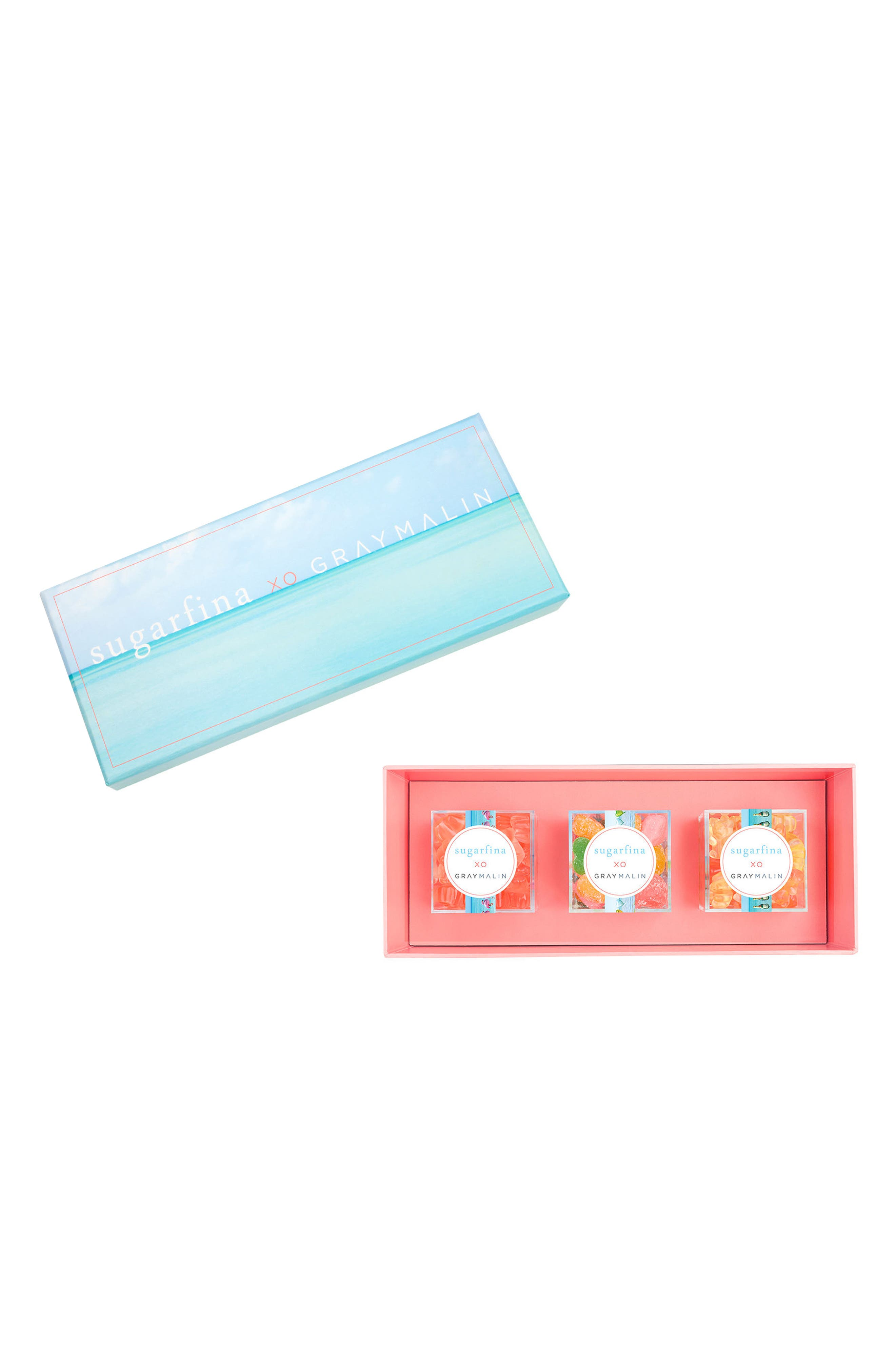 x Gray Malin 3-Piece Candy Bento Box,                             Main thumbnail 1, color,