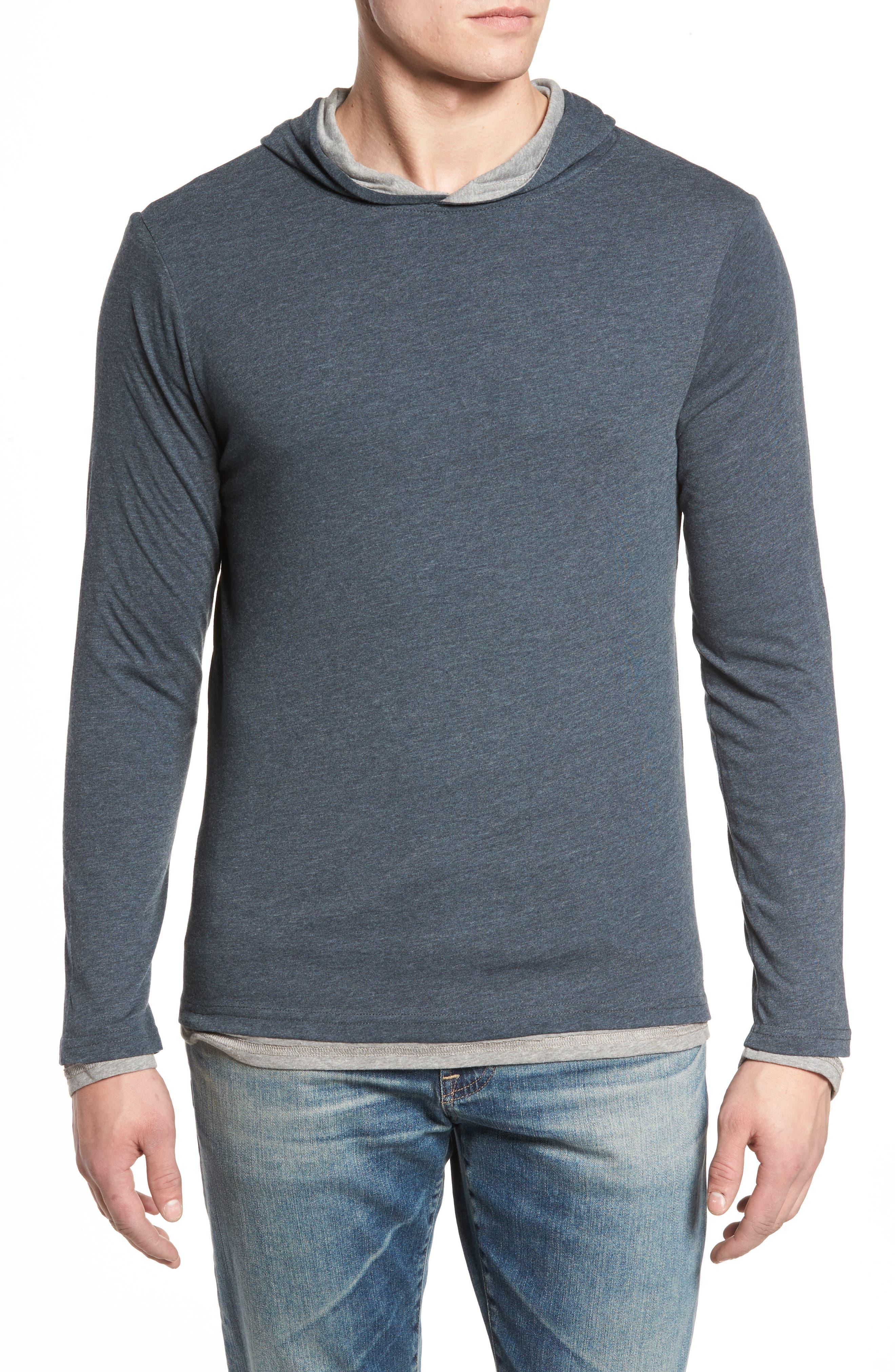 Reversible Hooded Jersey T-Shirt,                             Main thumbnail 2, color,