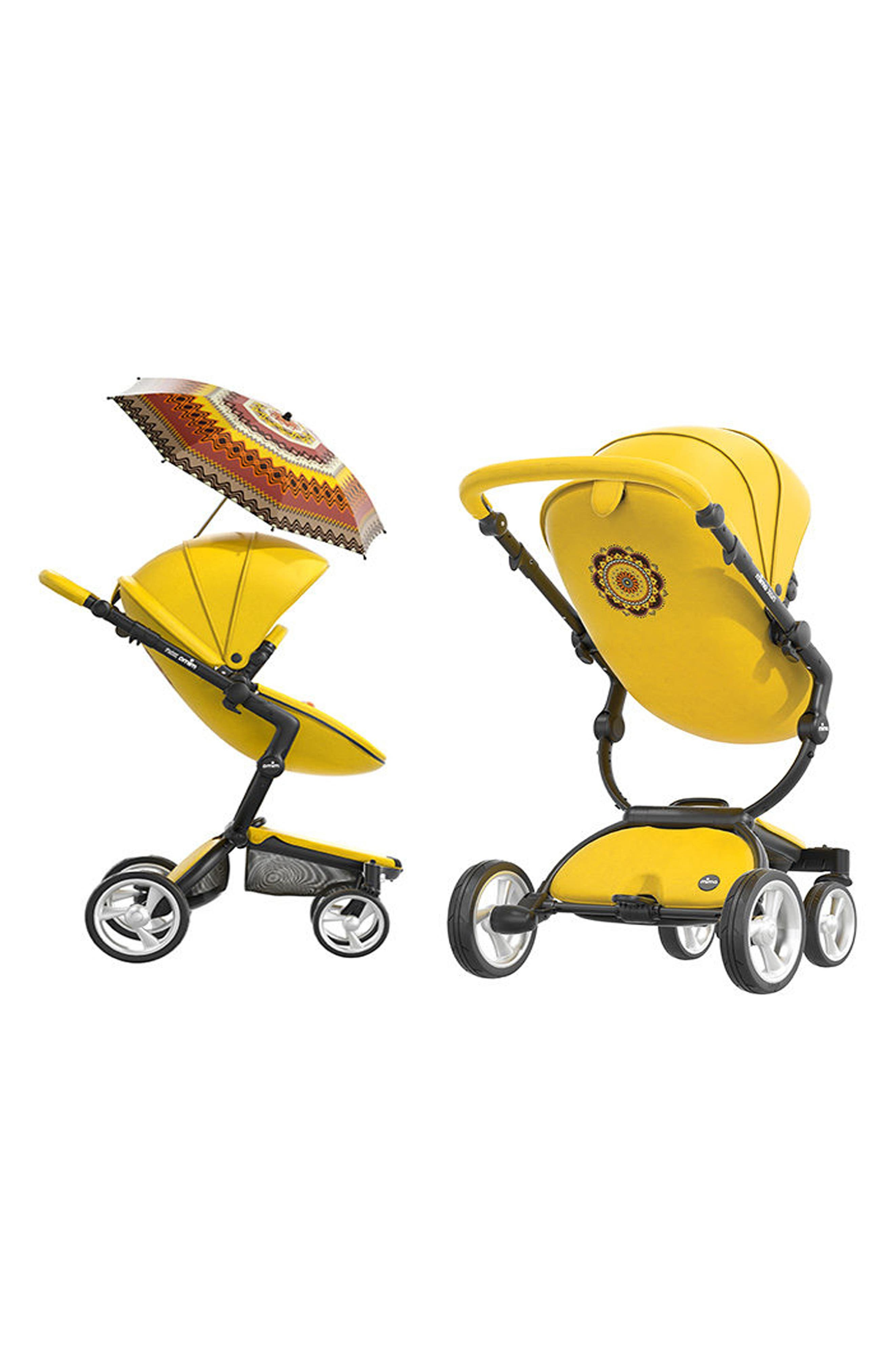 Xari Special Edition Chassis Stroller with Seat, Carrycot & Accessories,                             Alternate thumbnail 6, color,                             SPECIAL EDITION YELLOW