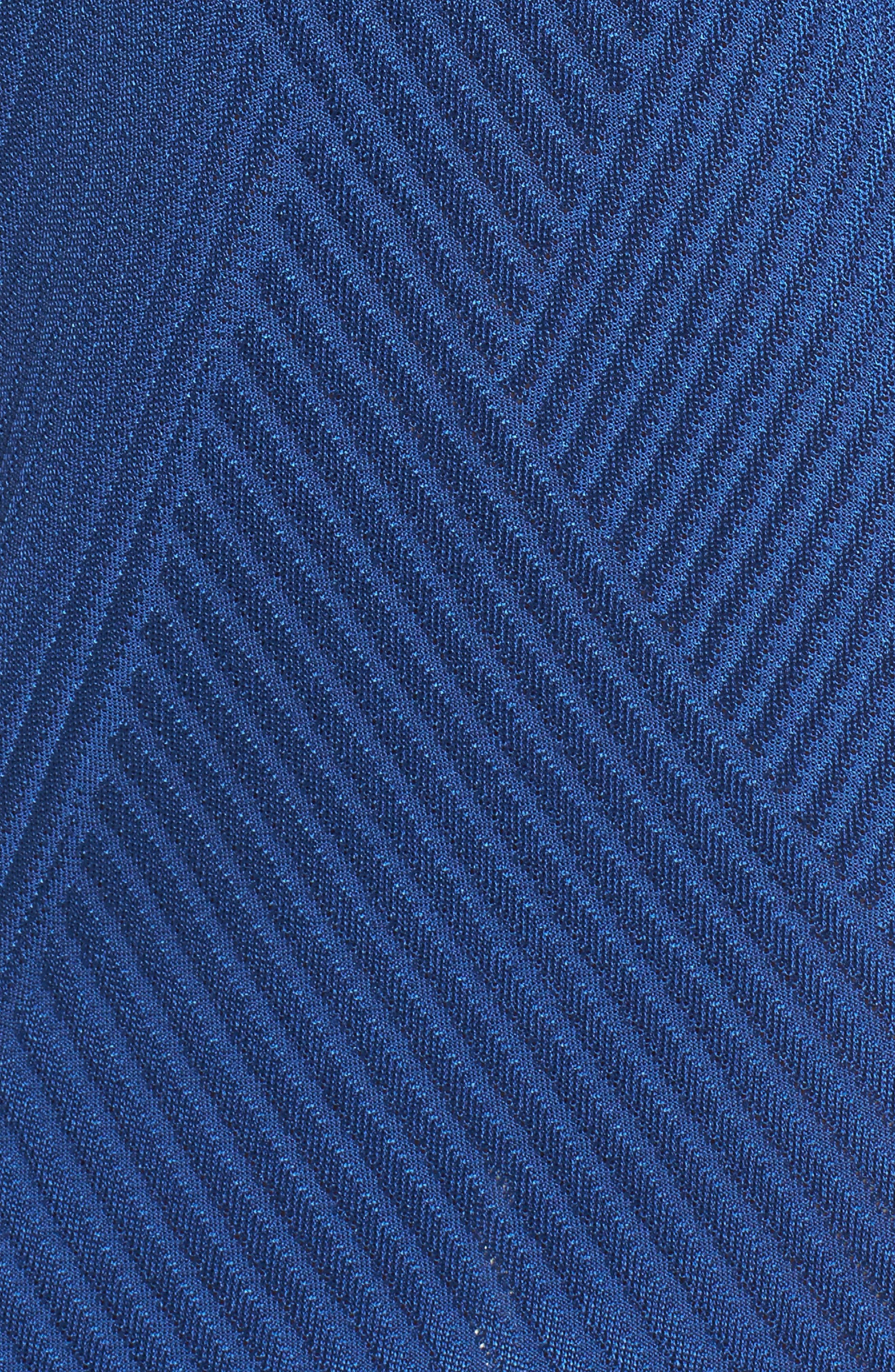 Texture Knit Sheath Dress,                             Alternate thumbnail 6, color,