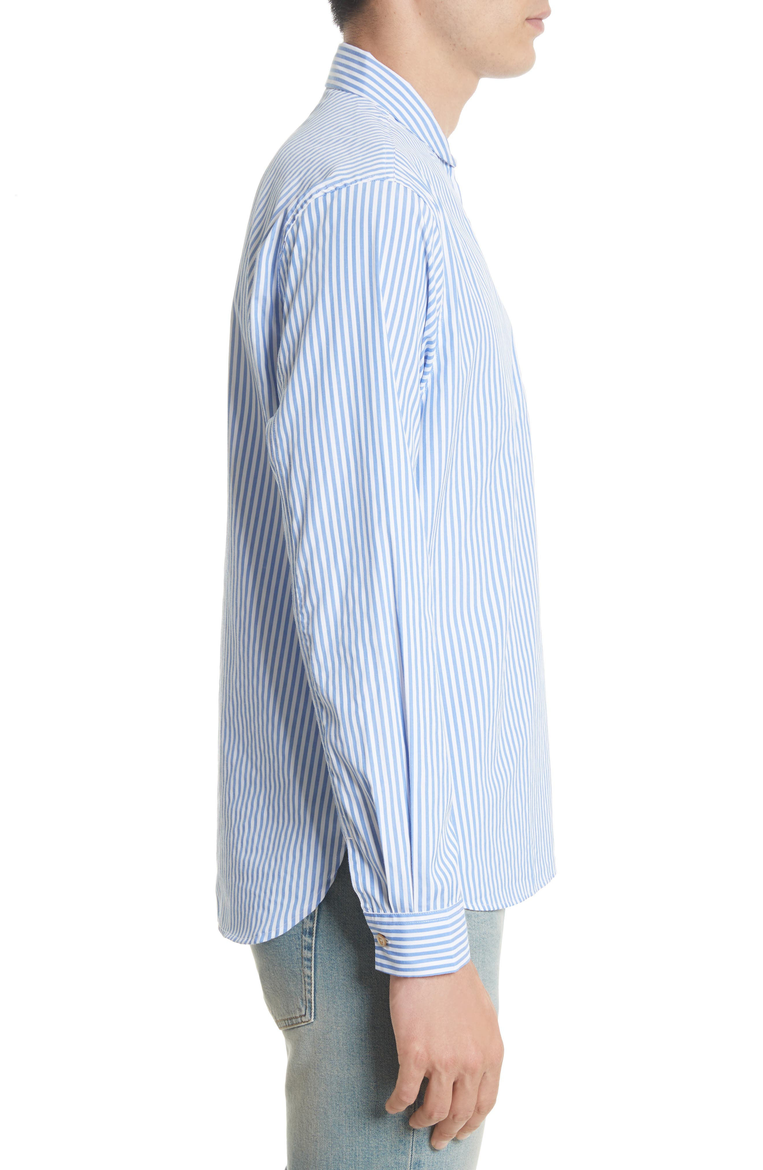 Shawl Collar Quarter Zip Shirt,                             Alternate thumbnail 4, color,