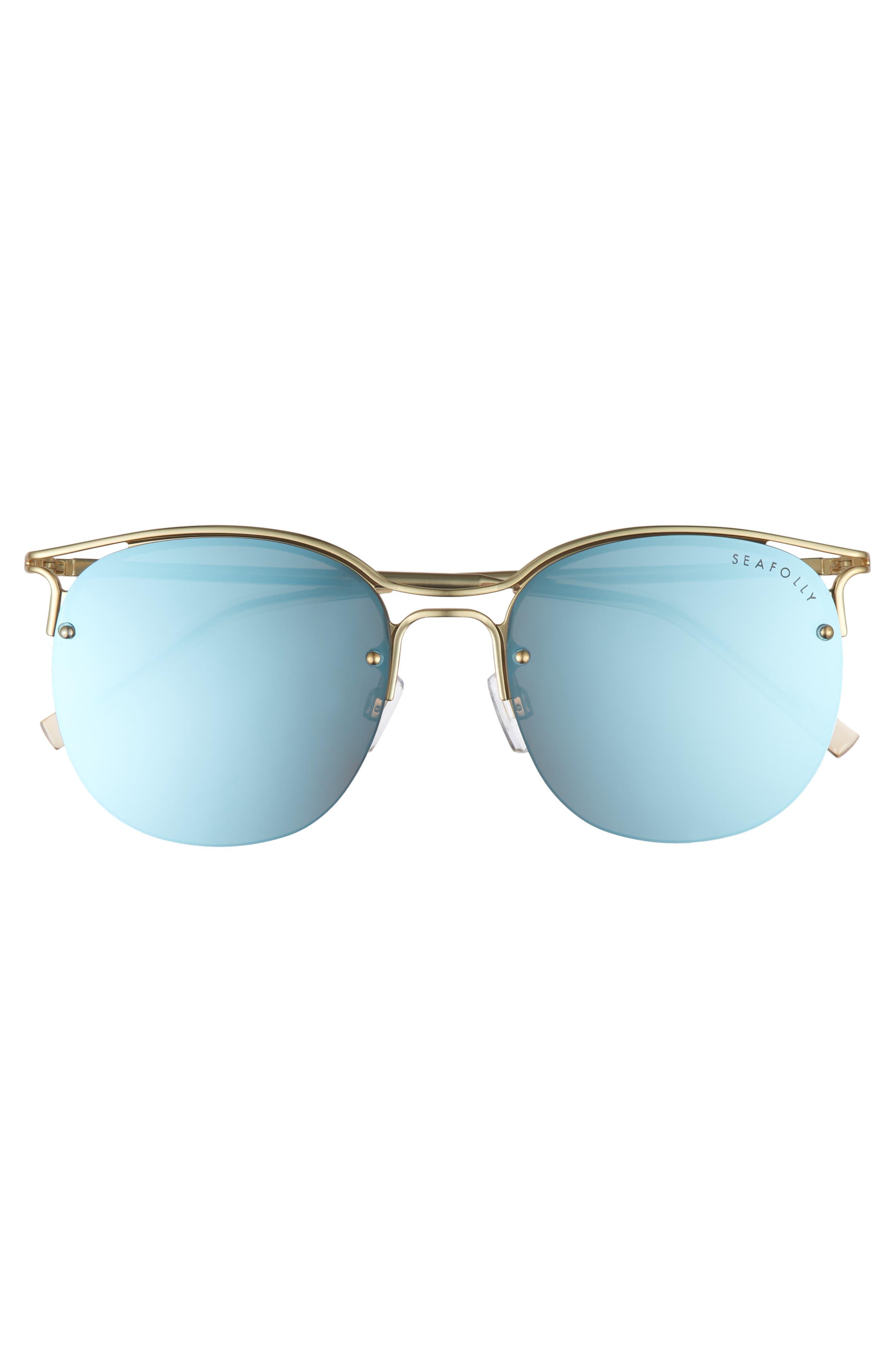 Freshwater 55m Metal Sunglasses,                             Alternate thumbnail 6, color,