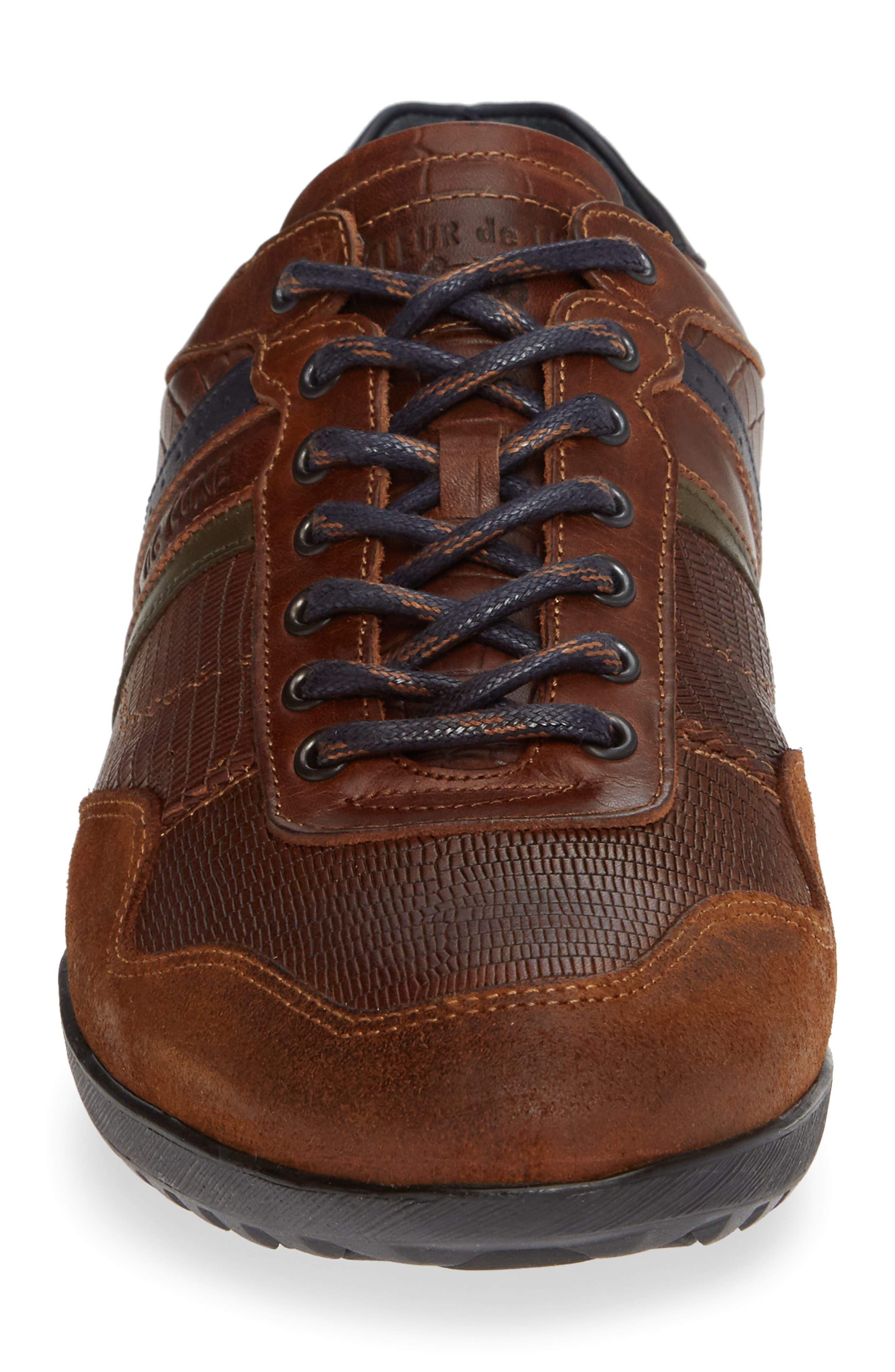 Crash Sneaker,                             Alternate thumbnail 4, color,                             COGNAC