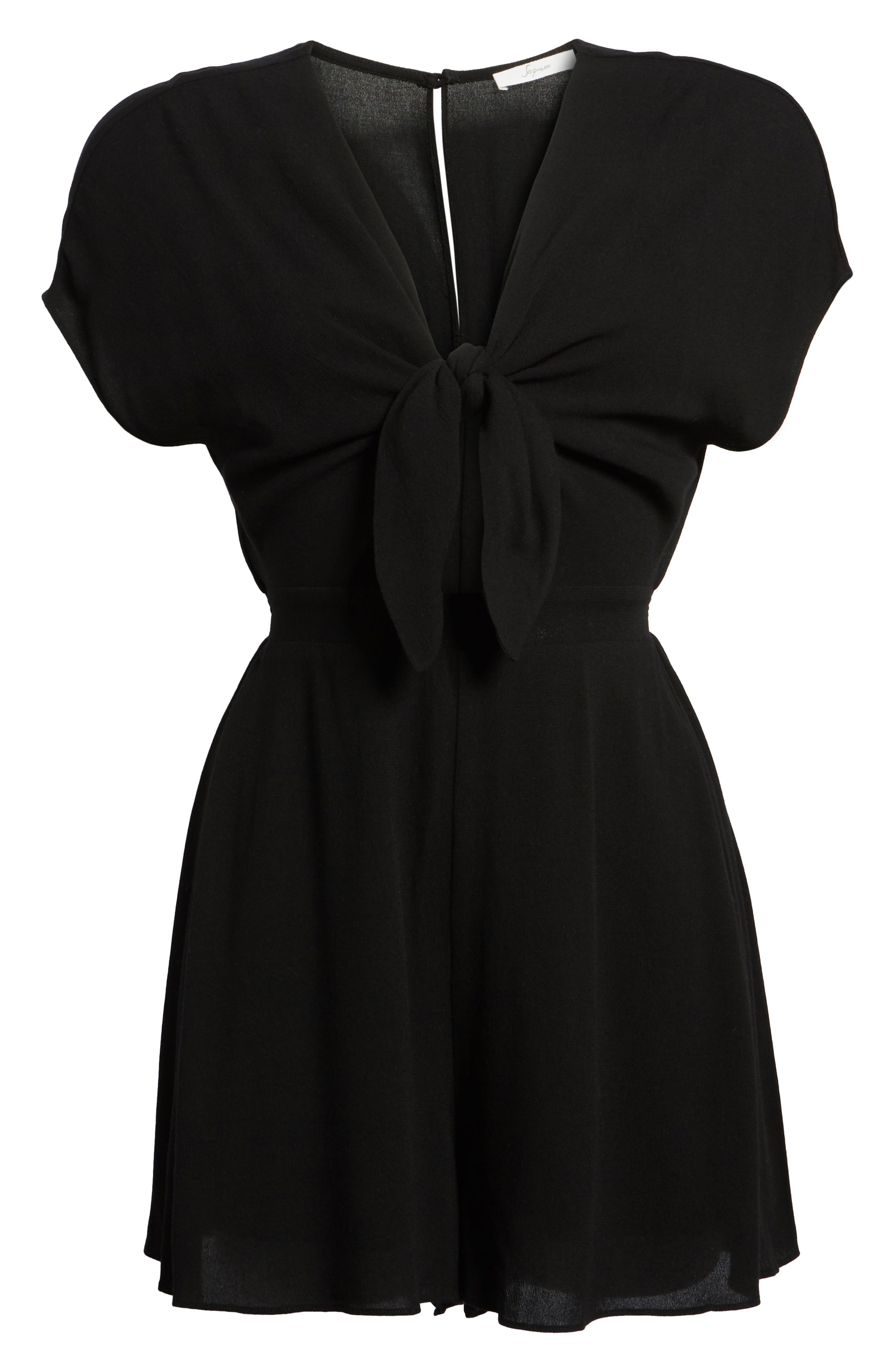 Knotted Romper,                             Alternate thumbnail 12, color,