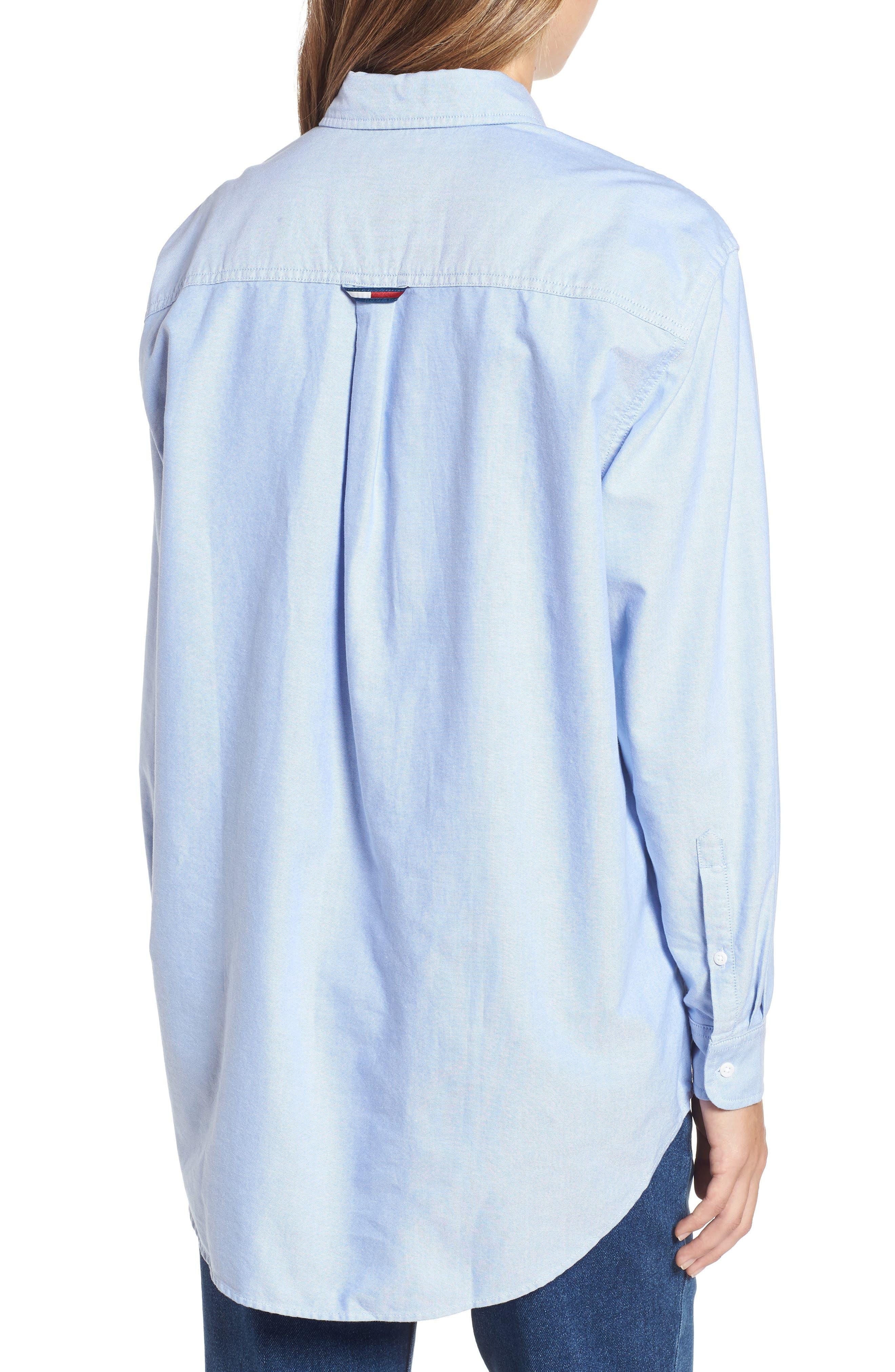 Classics Shirt,                             Alternate thumbnail 2, color,                             LIGHT BLUE