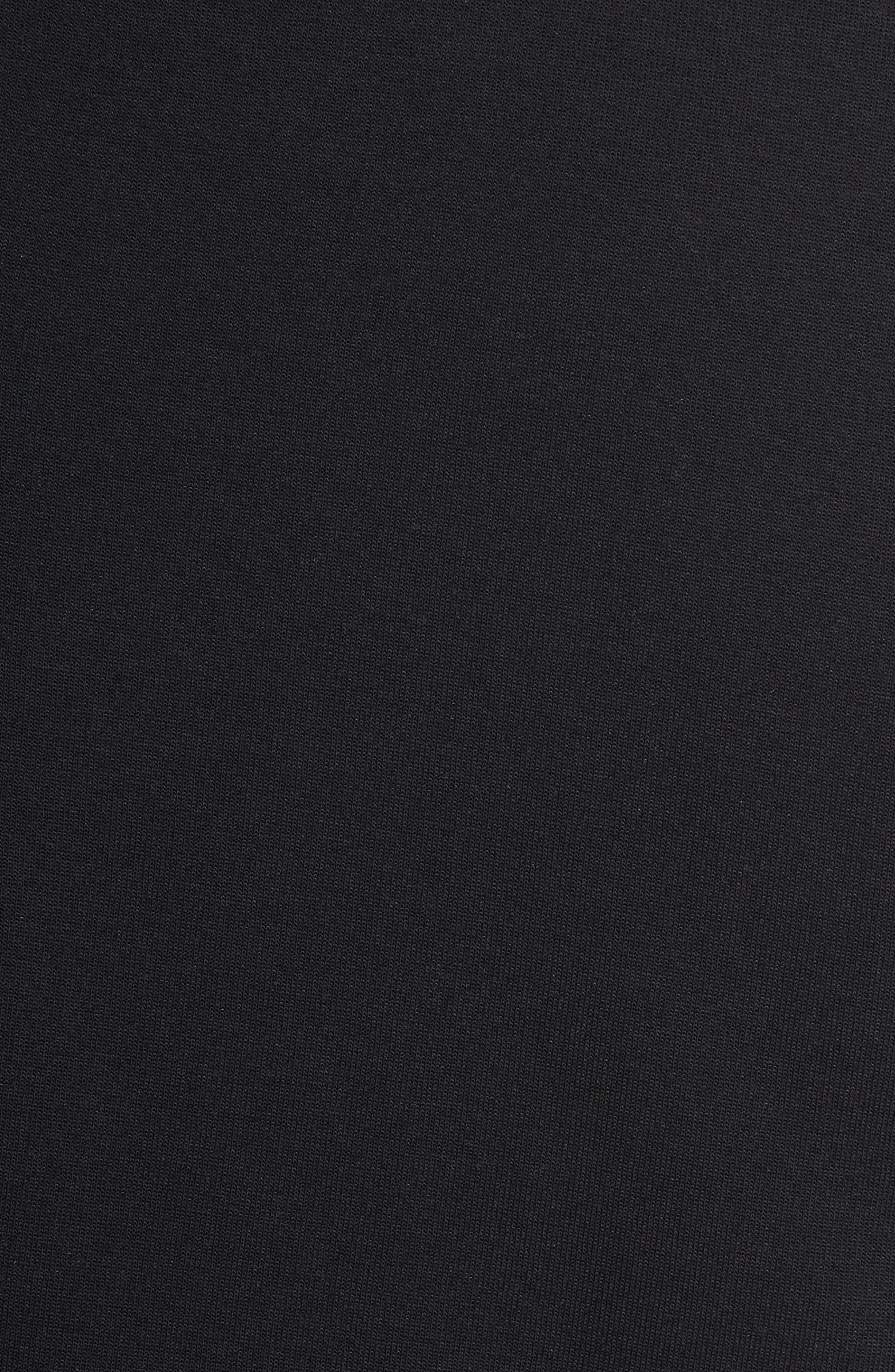 Sportswear Tech Fleece Cape Jacket,                             Alternate thumbnail 6, color,                             BLACK/ WHITE