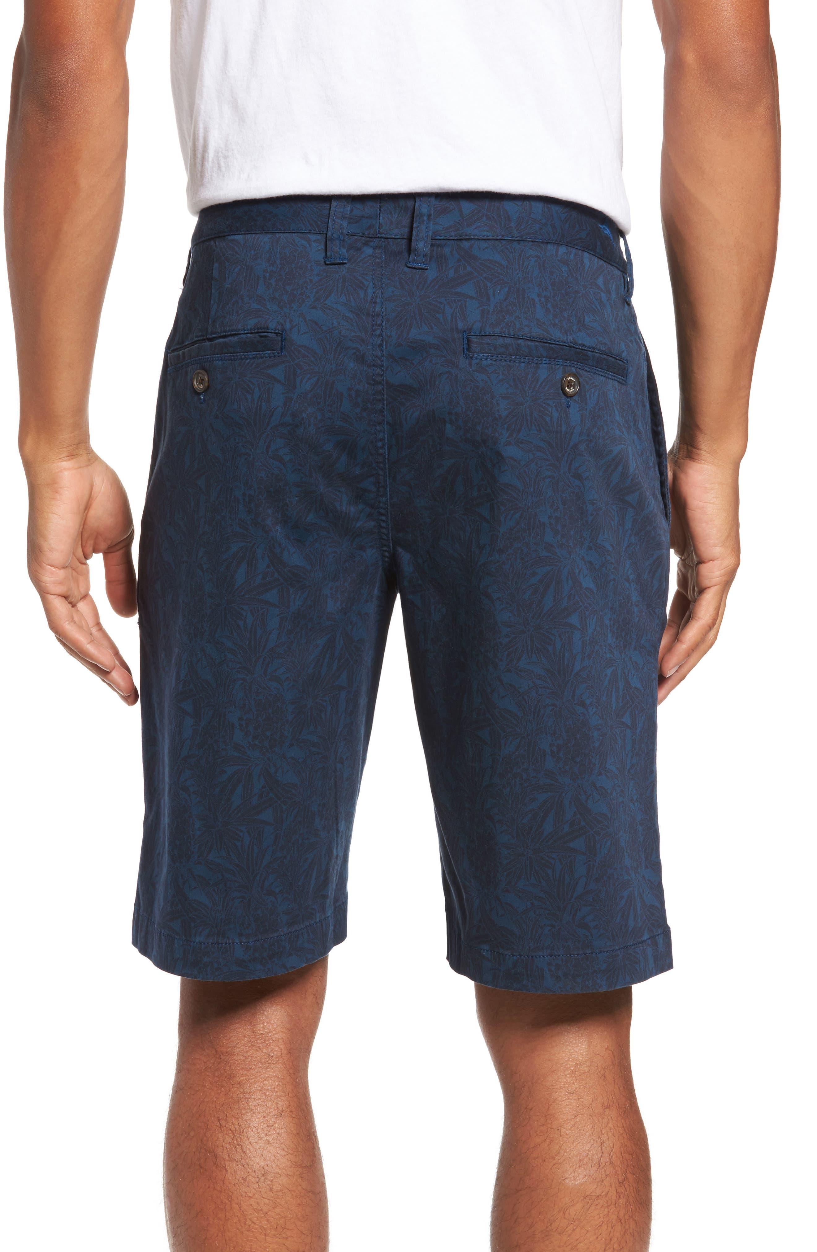 Camo Tropic Standard Fit Chino Shorts,                             Alternate thumbnail 4, color,