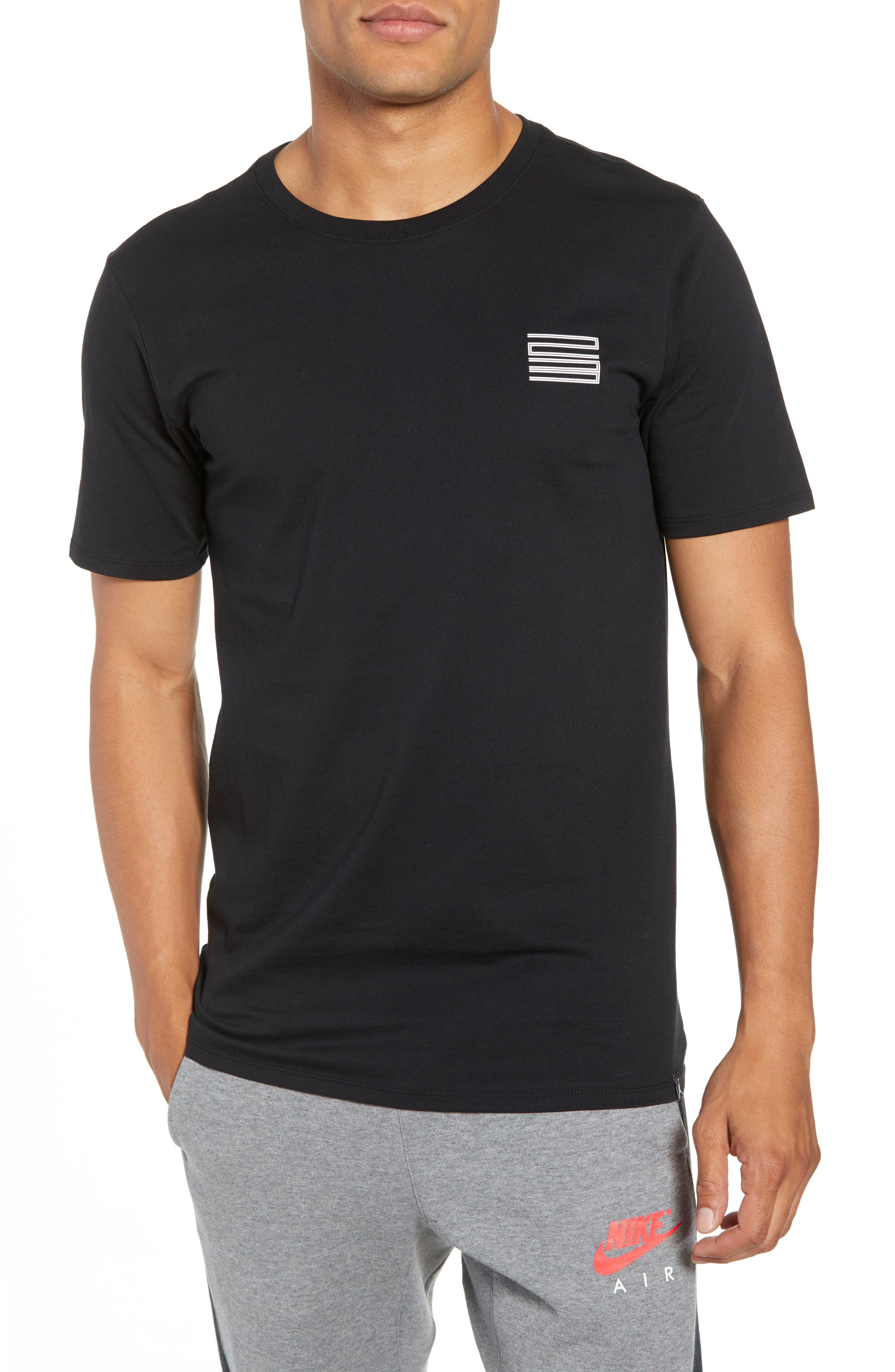 Graphic T-Shirt,                             Main thumbnail 1, color,                             BLACK/ WHITE