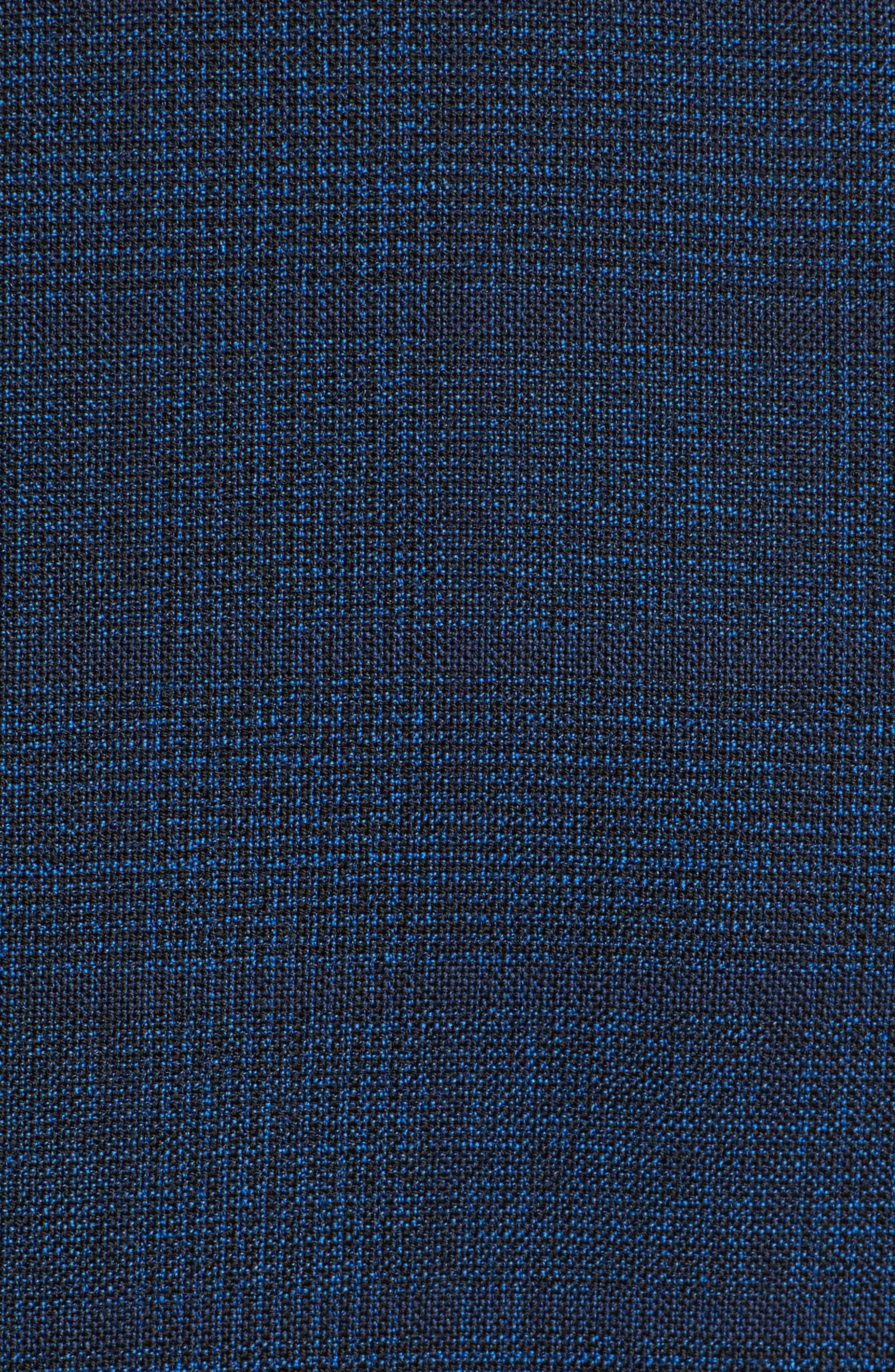 Jewels Classic Fit Plaid Wool Sport Coat,                             Alternate thumbnail 6, color,                             DARK BLUE