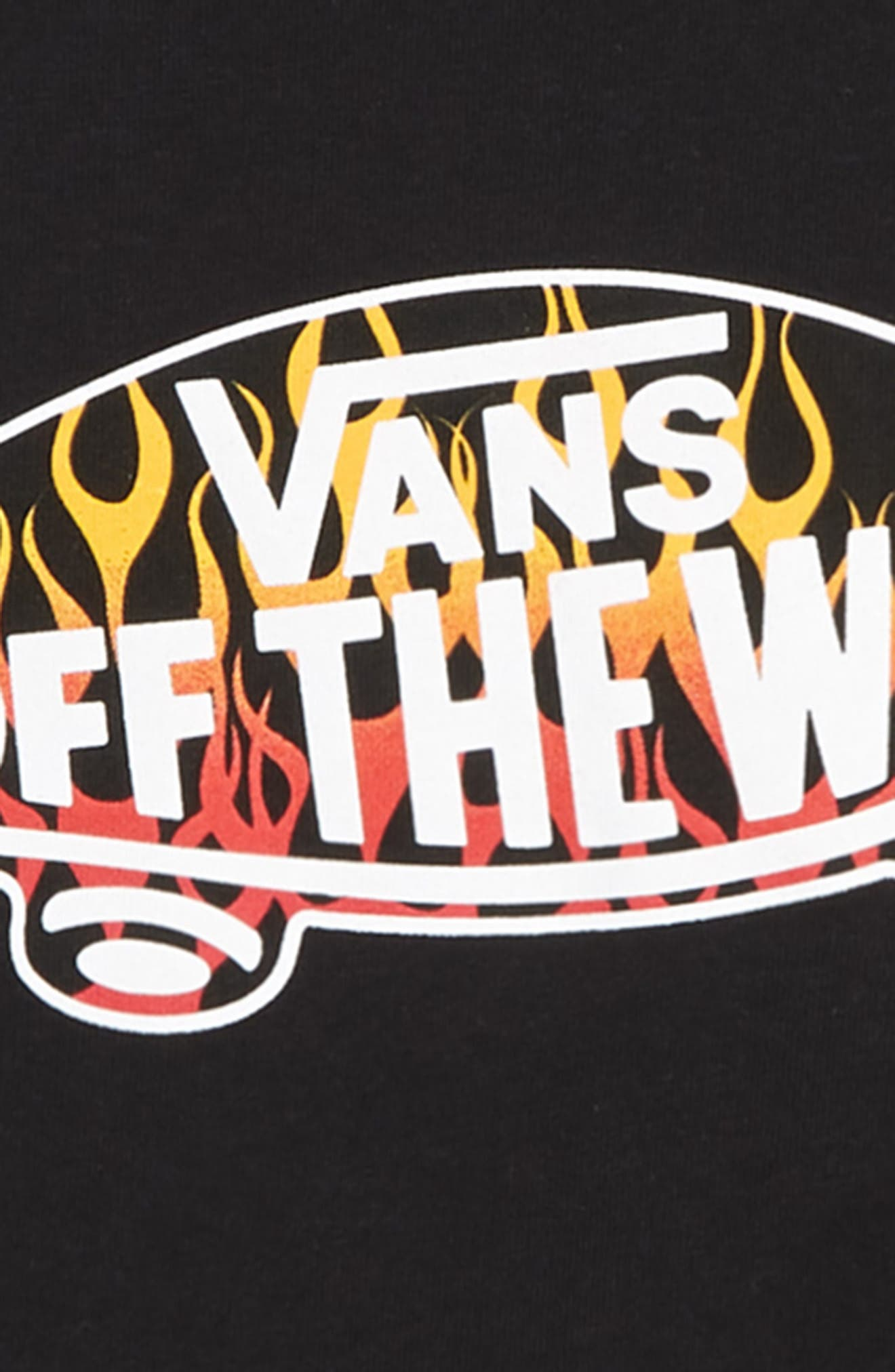 Off the Wall Graphic T-Shirt,                             Alternate thumbnail 2, color,                             001