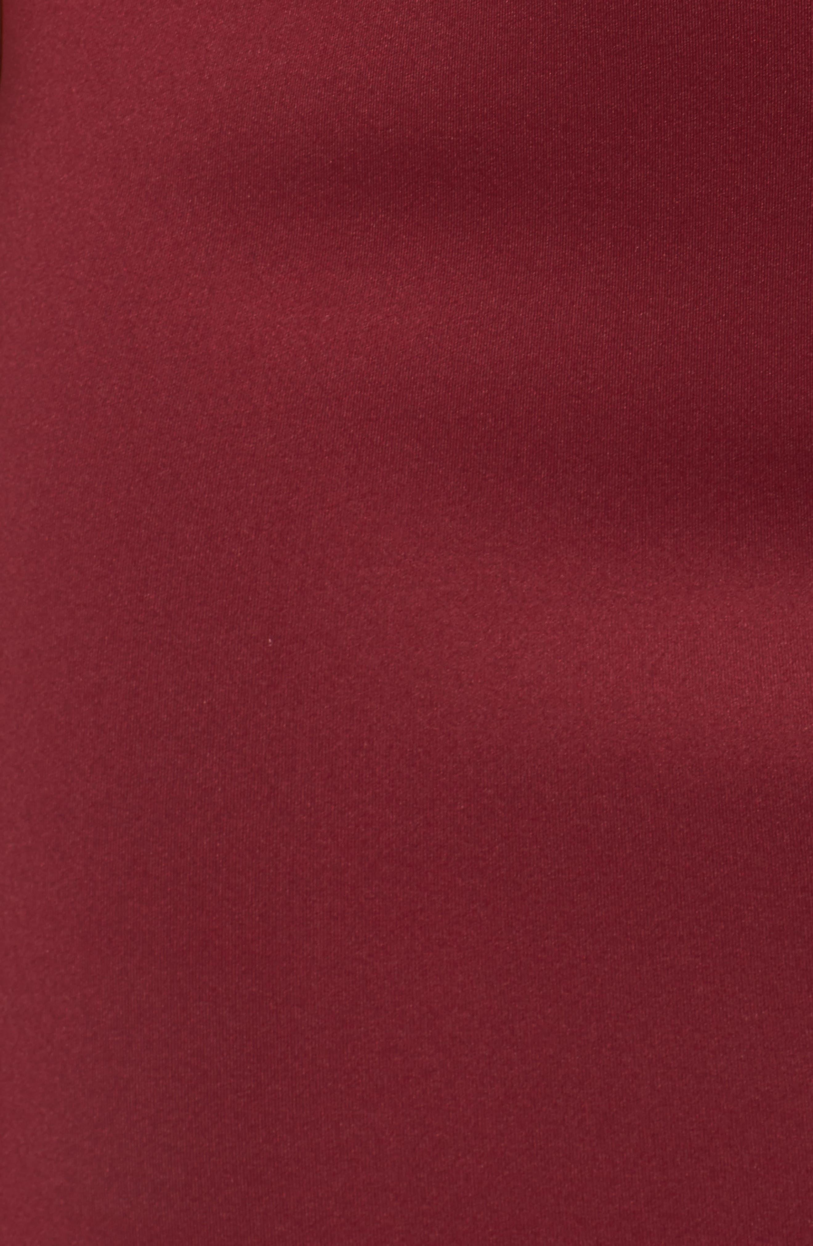 Strappy Double V Body-Con Dress,                             Alternate thumbnail 5, color,                             200