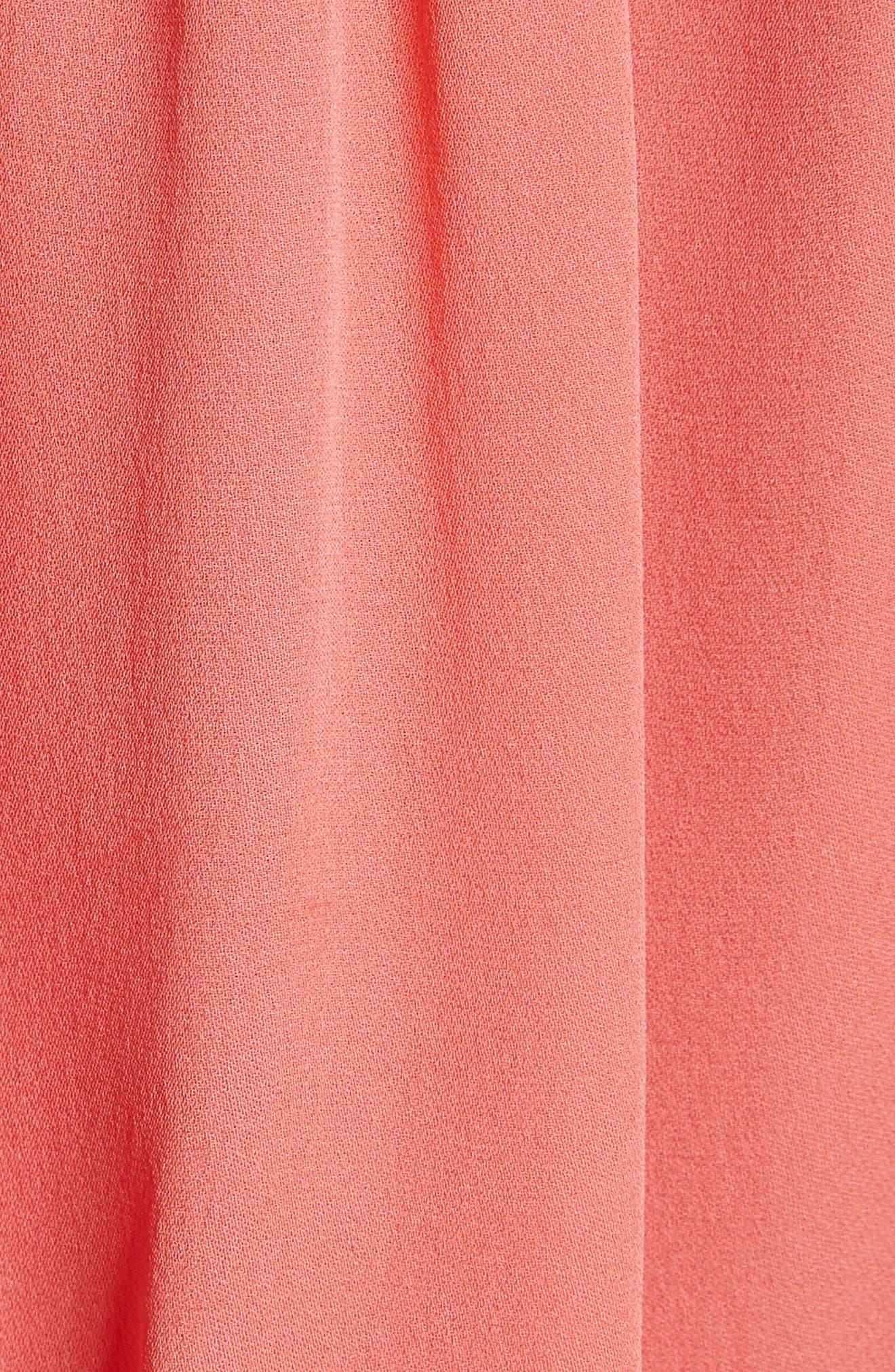 Blesina Tie Front Short Sleeve Silk Blouse,                             Alternate thumbnail 10, color,