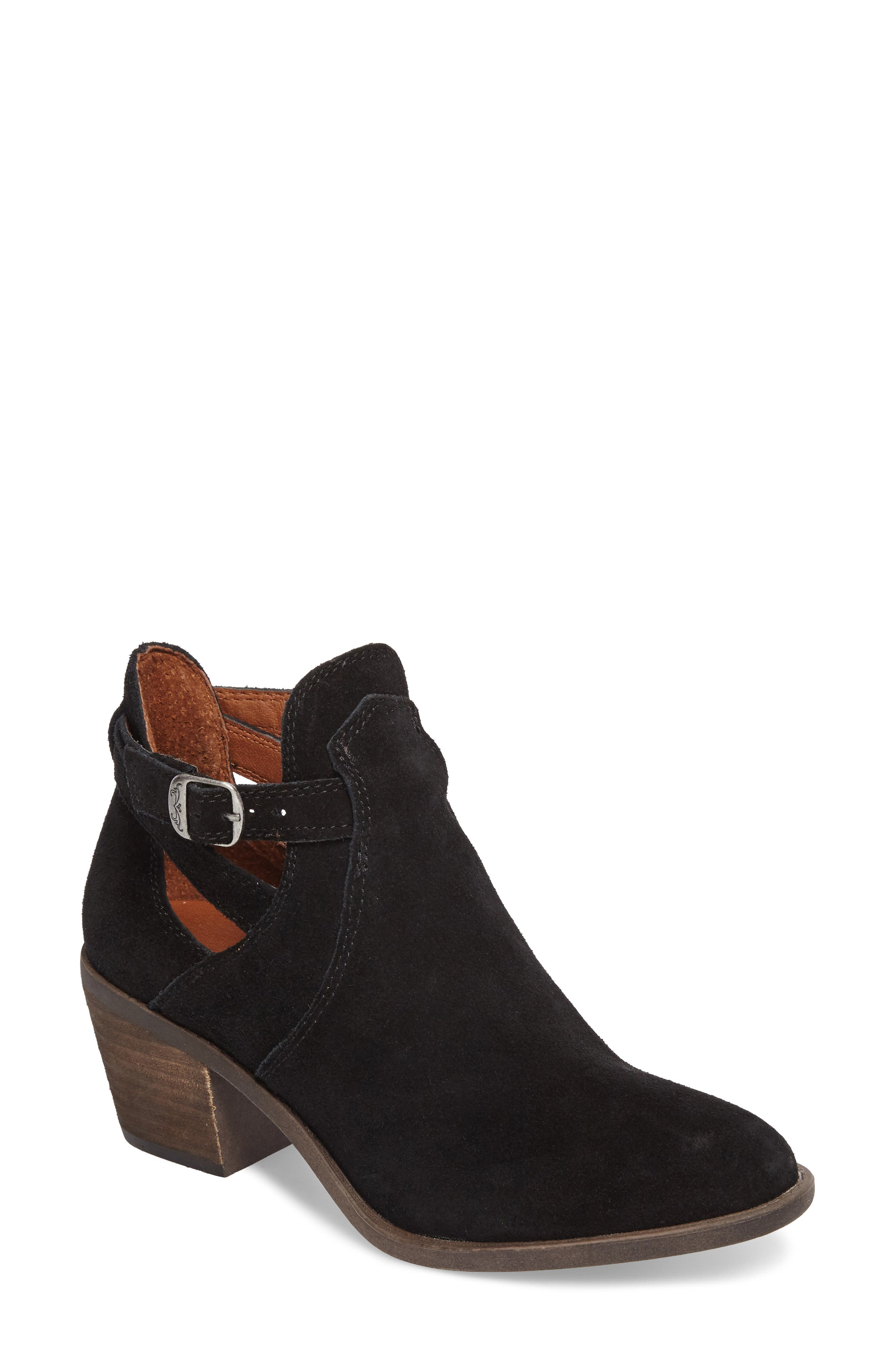 Nandita Cutout Bootie,                         Main,                         color, 001
