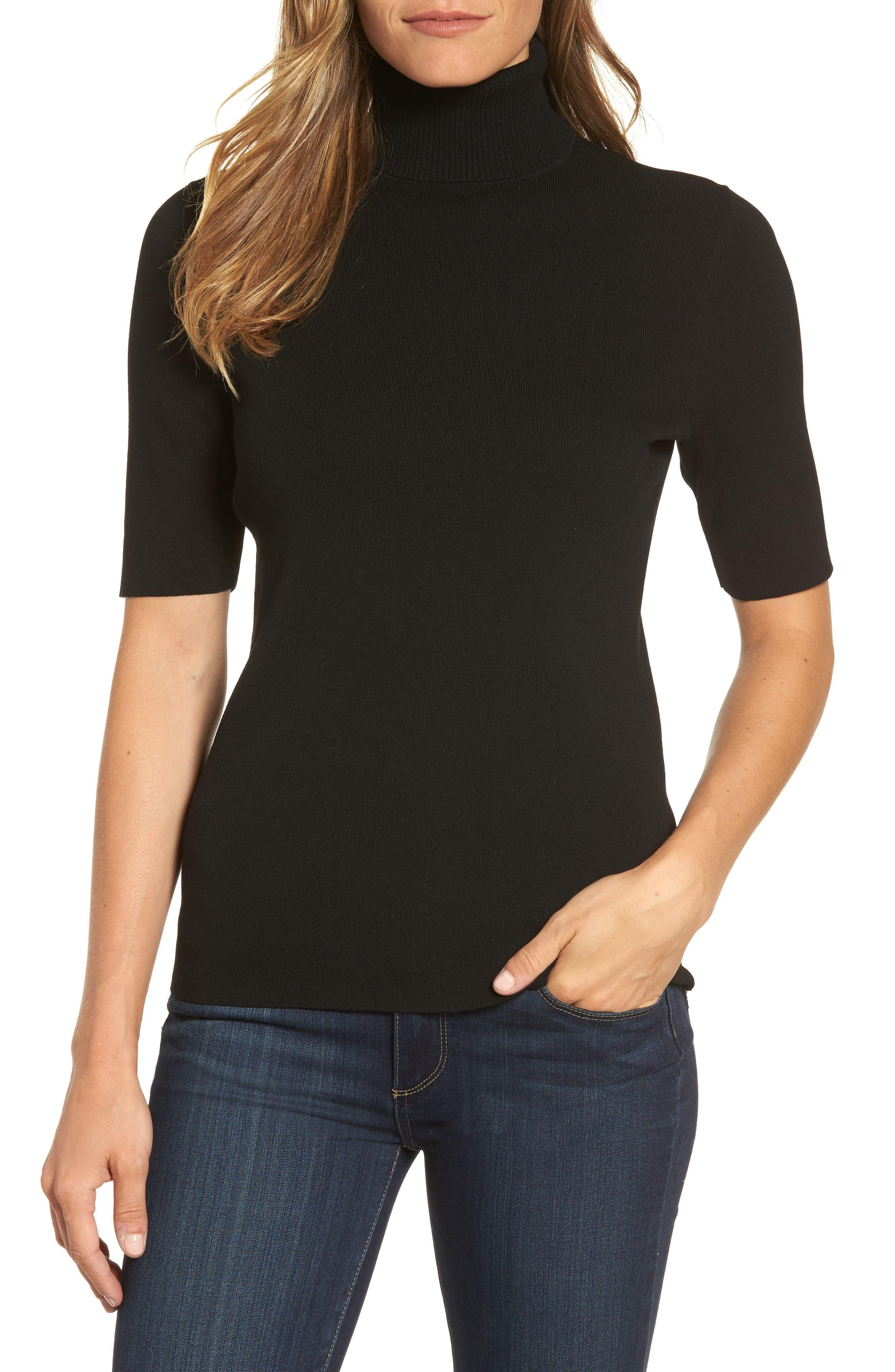 Turtleneck Sweater,                         Main,                         color, 002