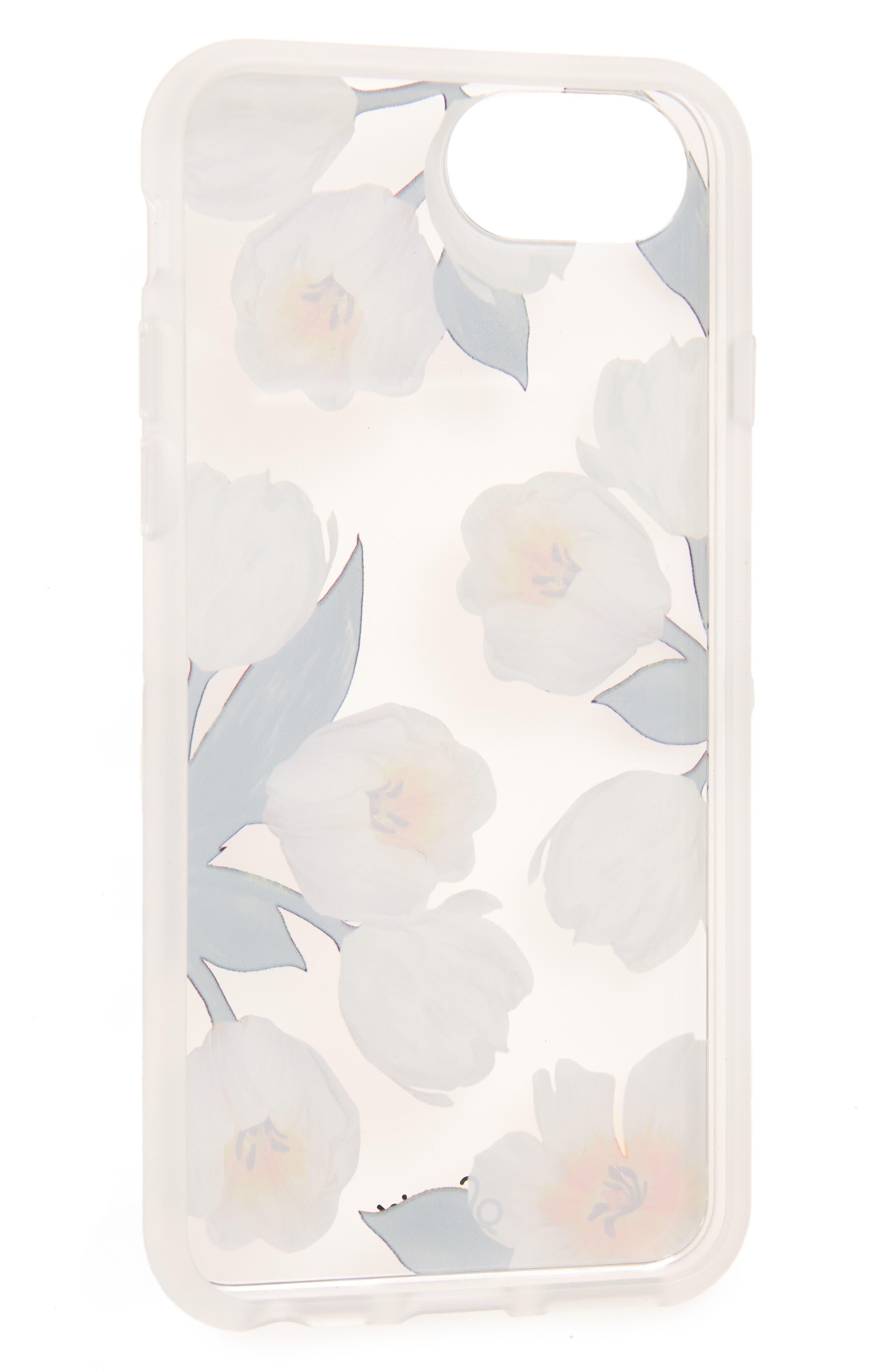 Tulip iPhone 6/6s/7/8 & 6/6s/7/8 Plus Case,                             Alternate thumbnail 2, color,                             100