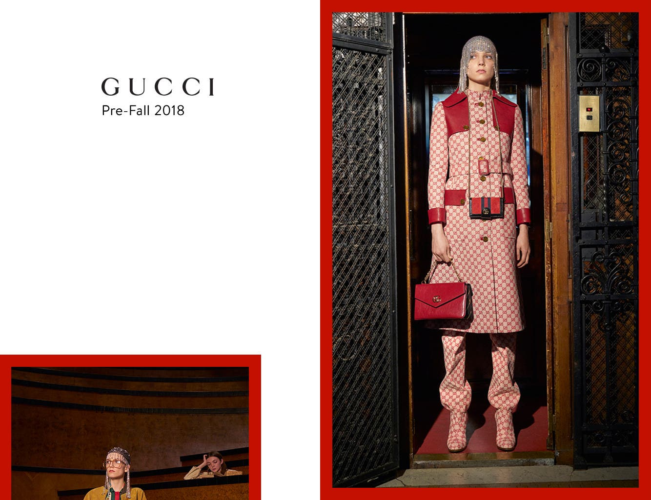 Gucci pre-fall 2018 for men and women.