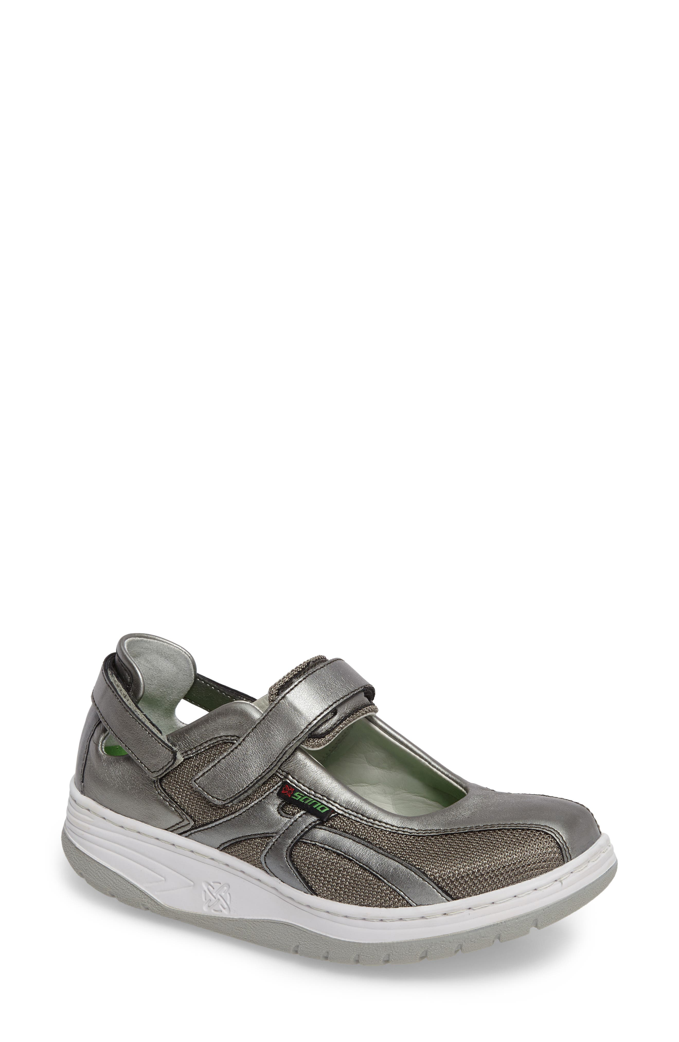 Sano by Mephisto 'Excess' Walking Shoe,                             Alternate thumbnail 4, color,