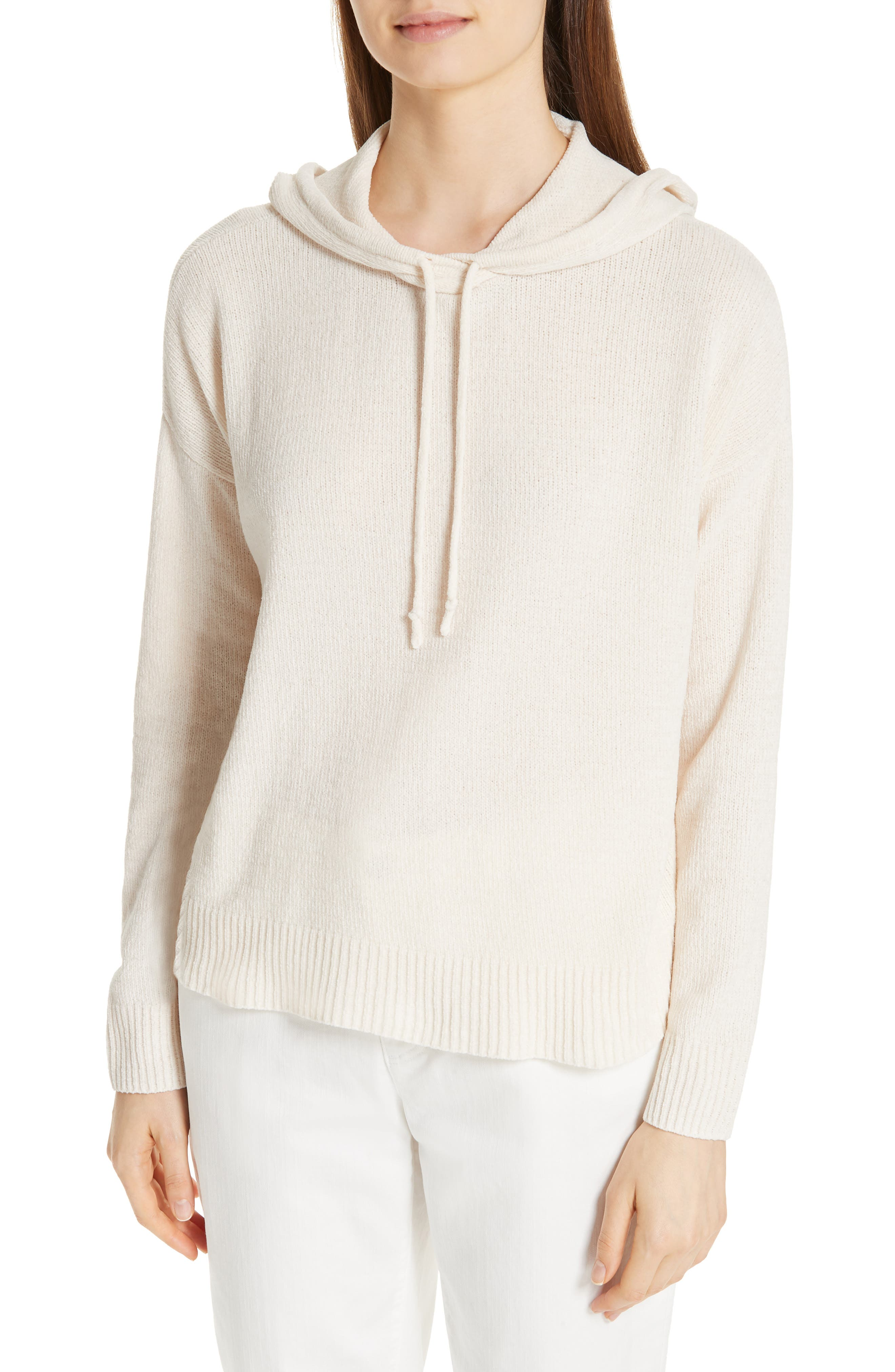 Organic Cotton Chenille Hoodie, Main, color, 103