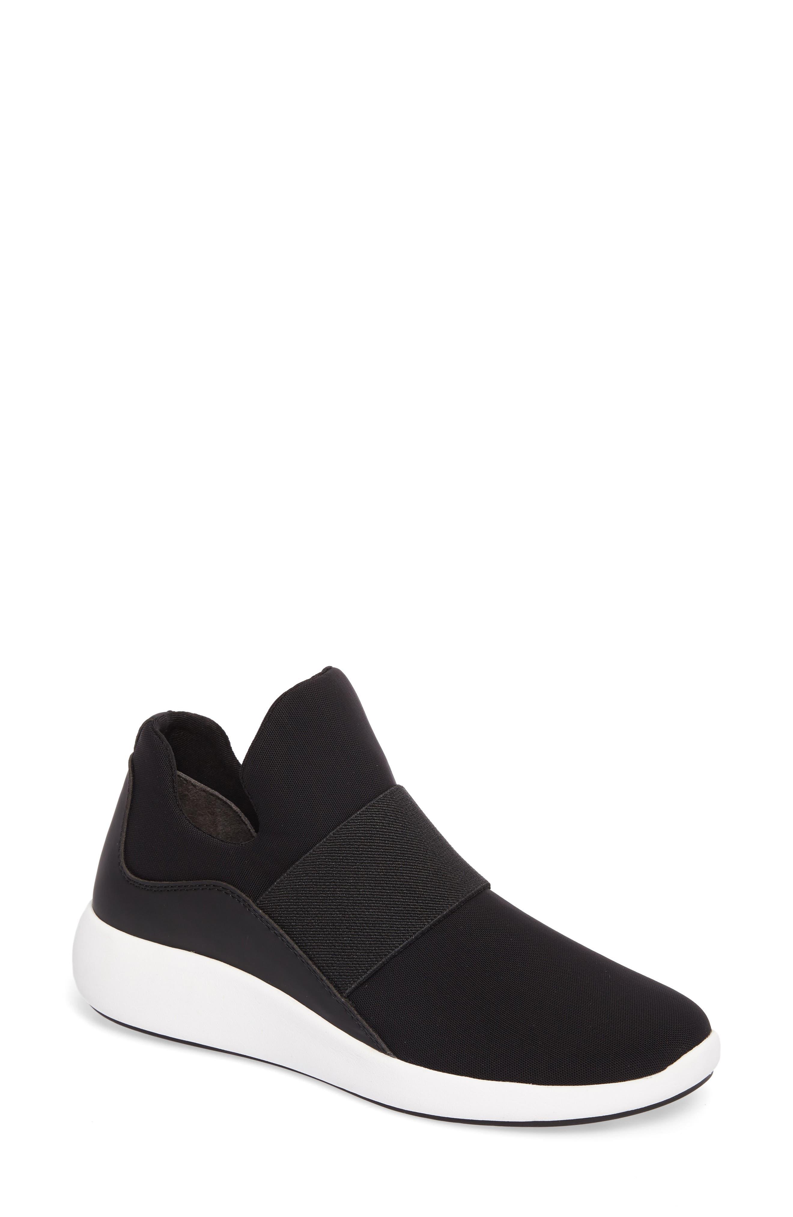 Donna Karan Cory Slip-On Sneaker,                             Main thumbnail 1, color,                             001